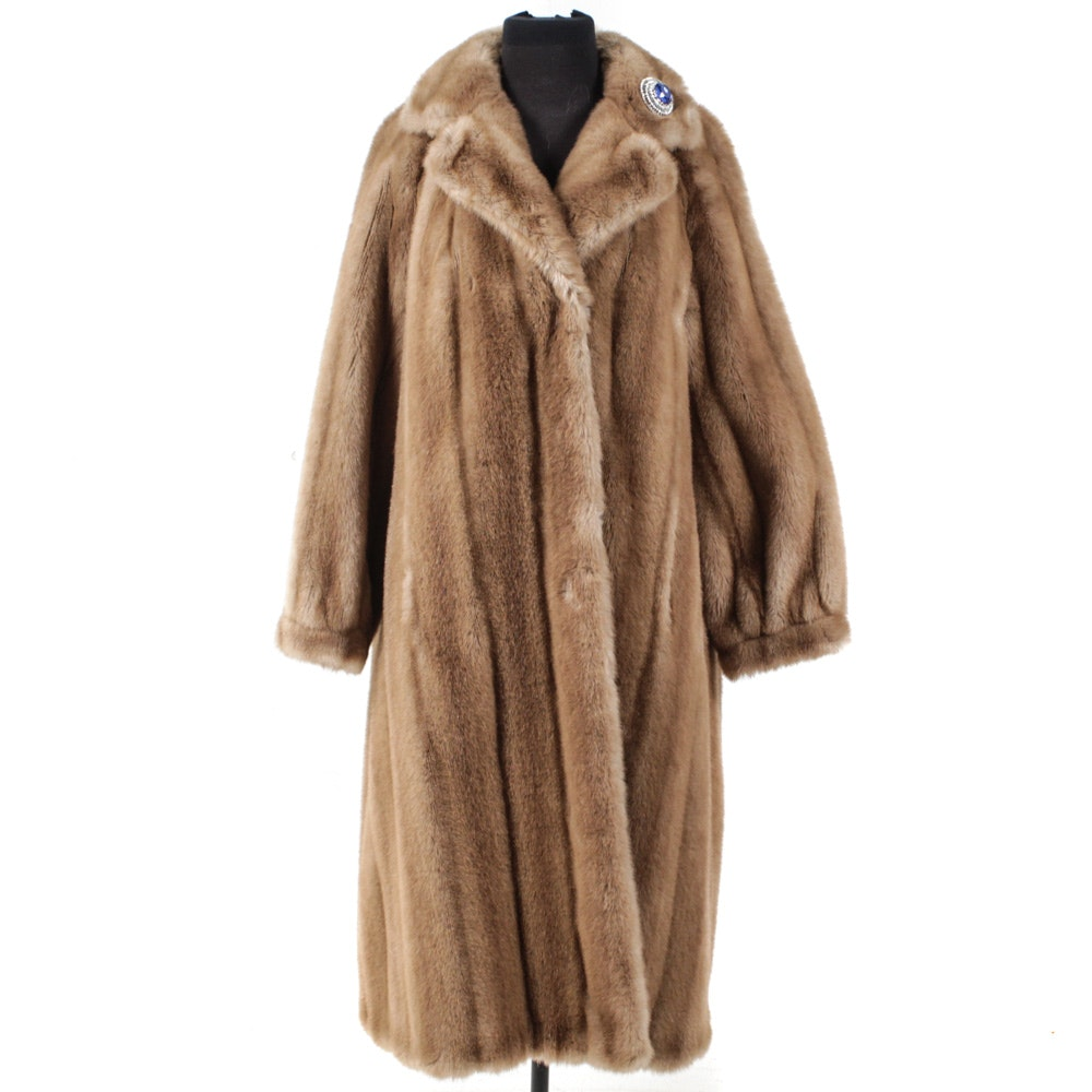 "Vintage Limited Edition Faux Fur from ""The Metzger Group"" Designed by Erika"
