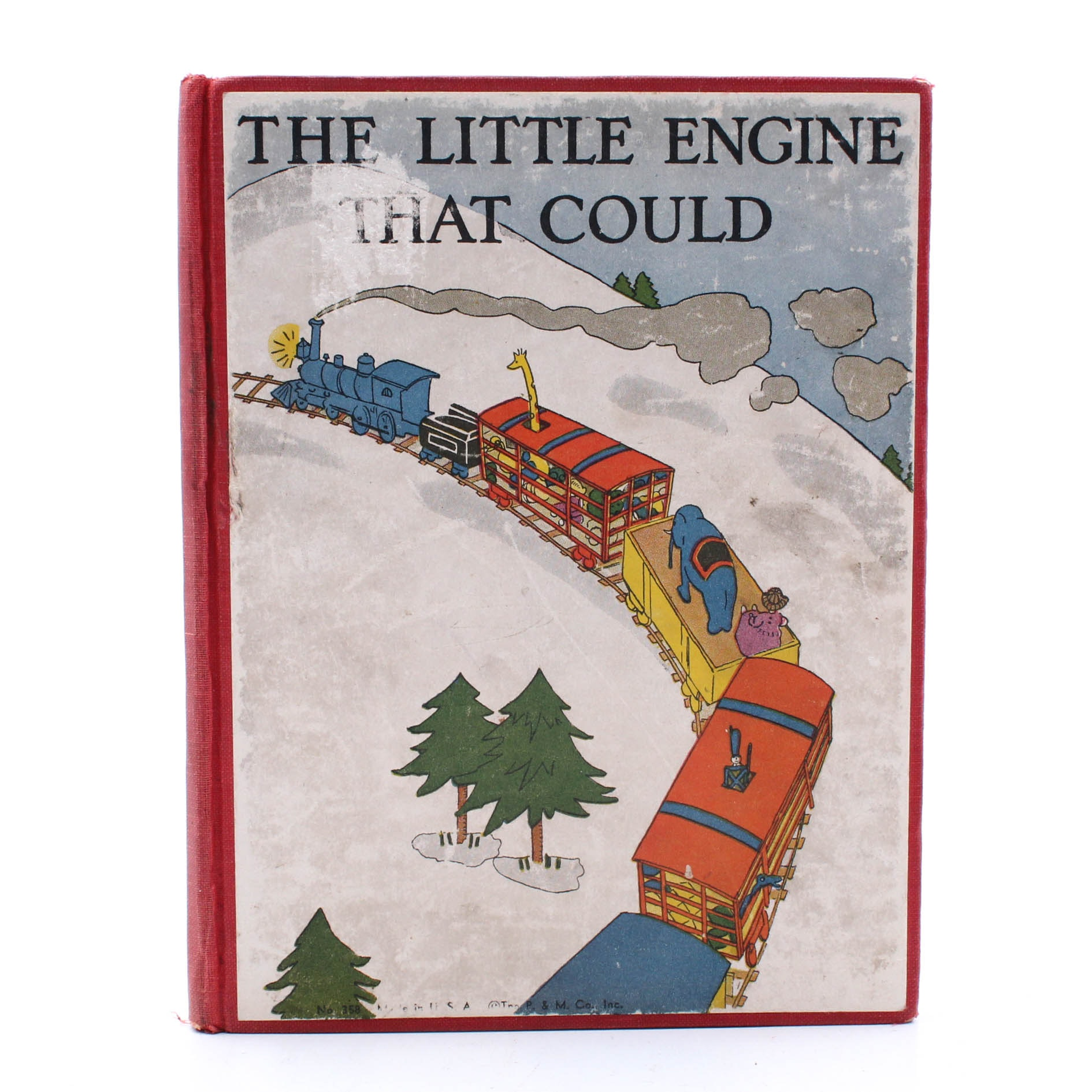 """1930 First Edition """"The Little Engine That Could"""" by Watty Piper"""