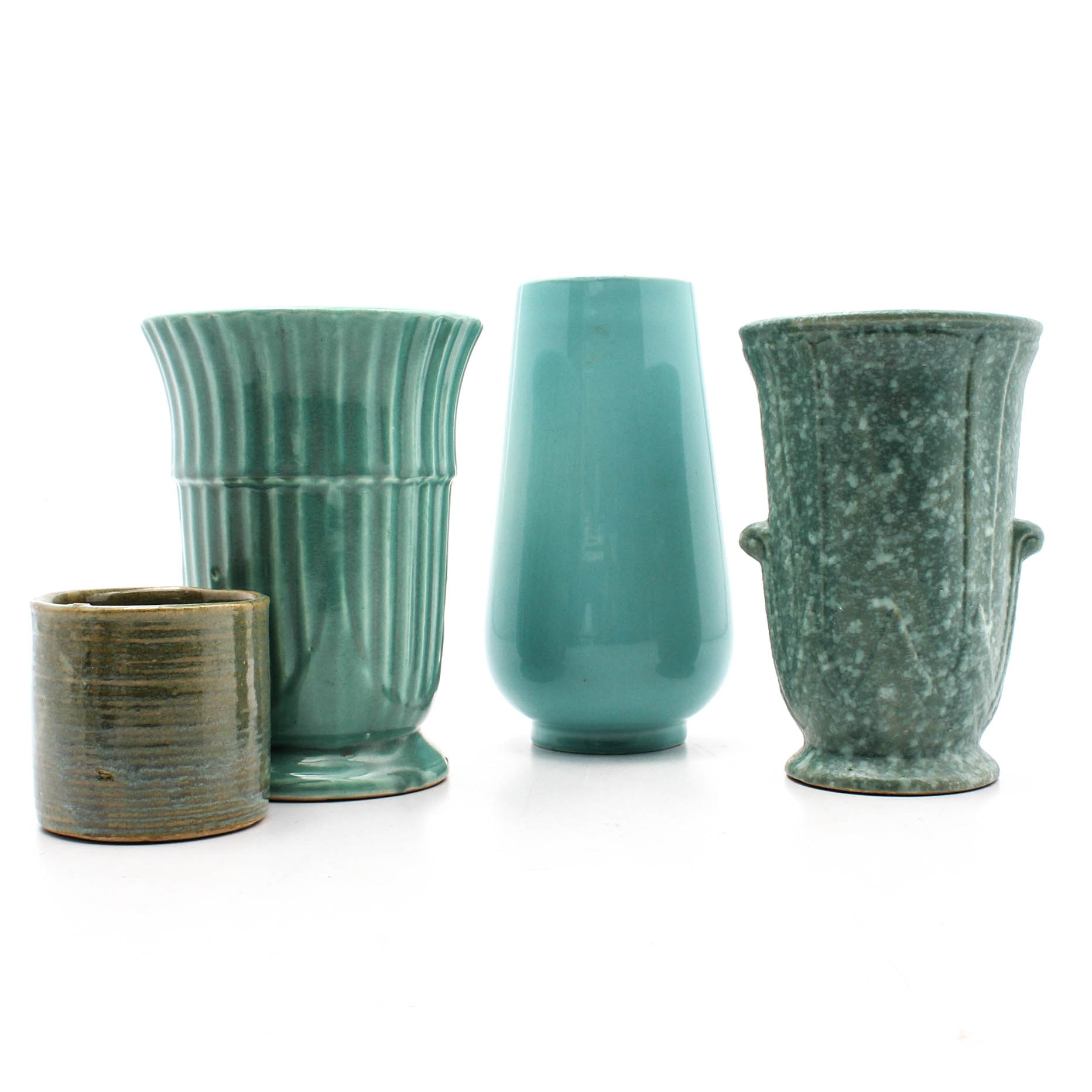 Decorative Turquoise Colored Vases
