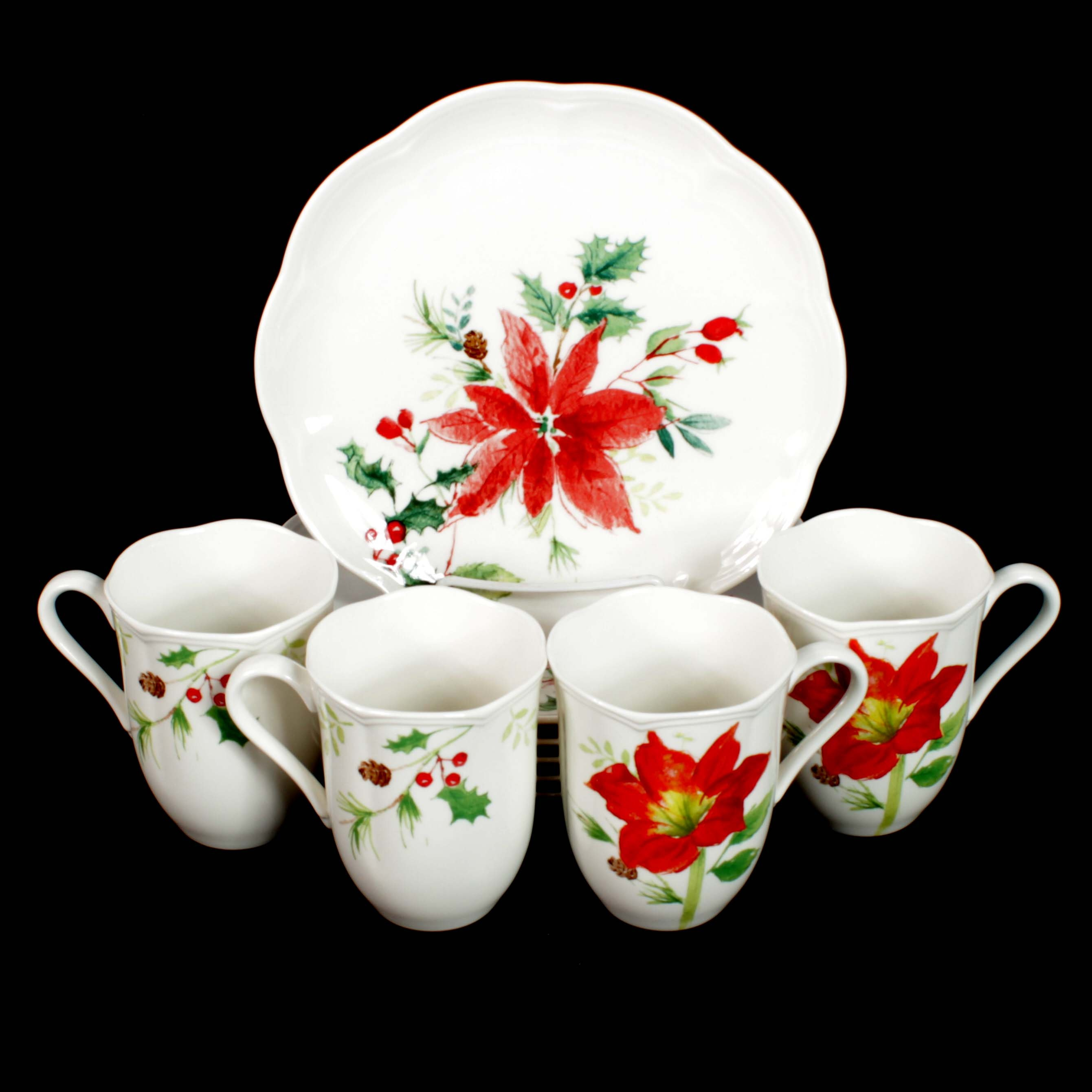 "Lenox China ""Winter Meadow"" Dinnerware"