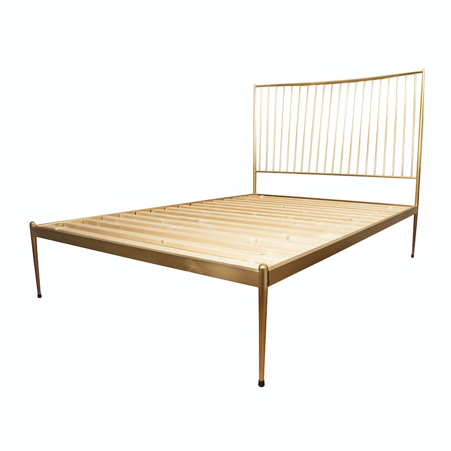 Stella Metal Full Size Bed Frame By