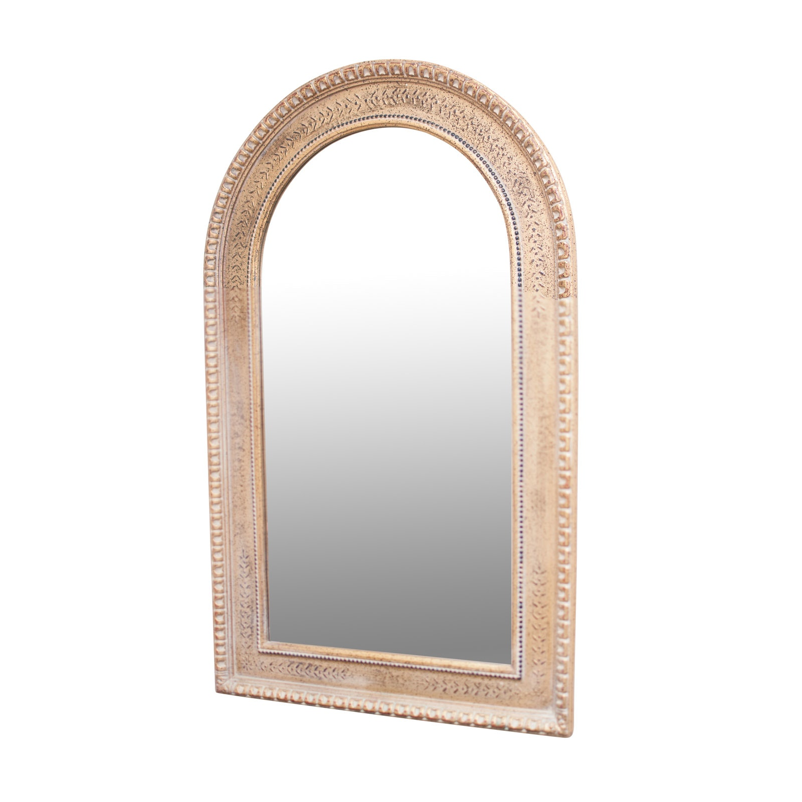 Arched Giltwood Beveled Edge Wall Mirror by The Uttermost Company