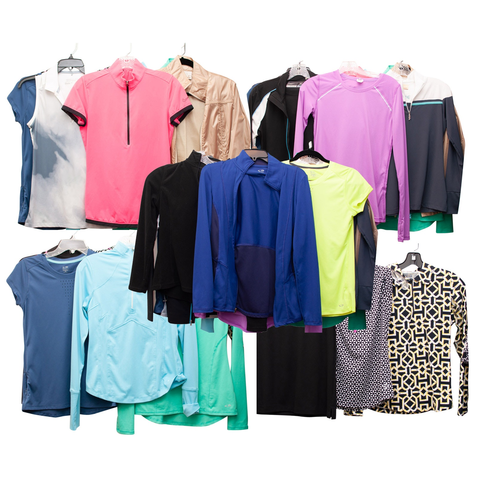 Women's Sports Clothing Featuring Nike Golf, Annika, Golftini and Others