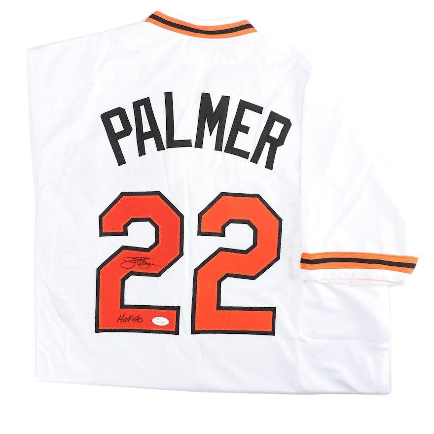 buy online e6481 ebafe Jim Palmer Autographed Baltimore Orioles Jersey