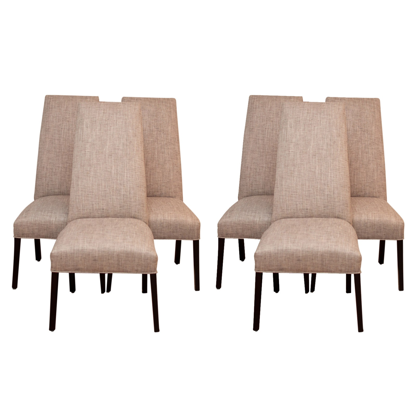 Contemporary Upholstered Dining Chairs by Designmaster