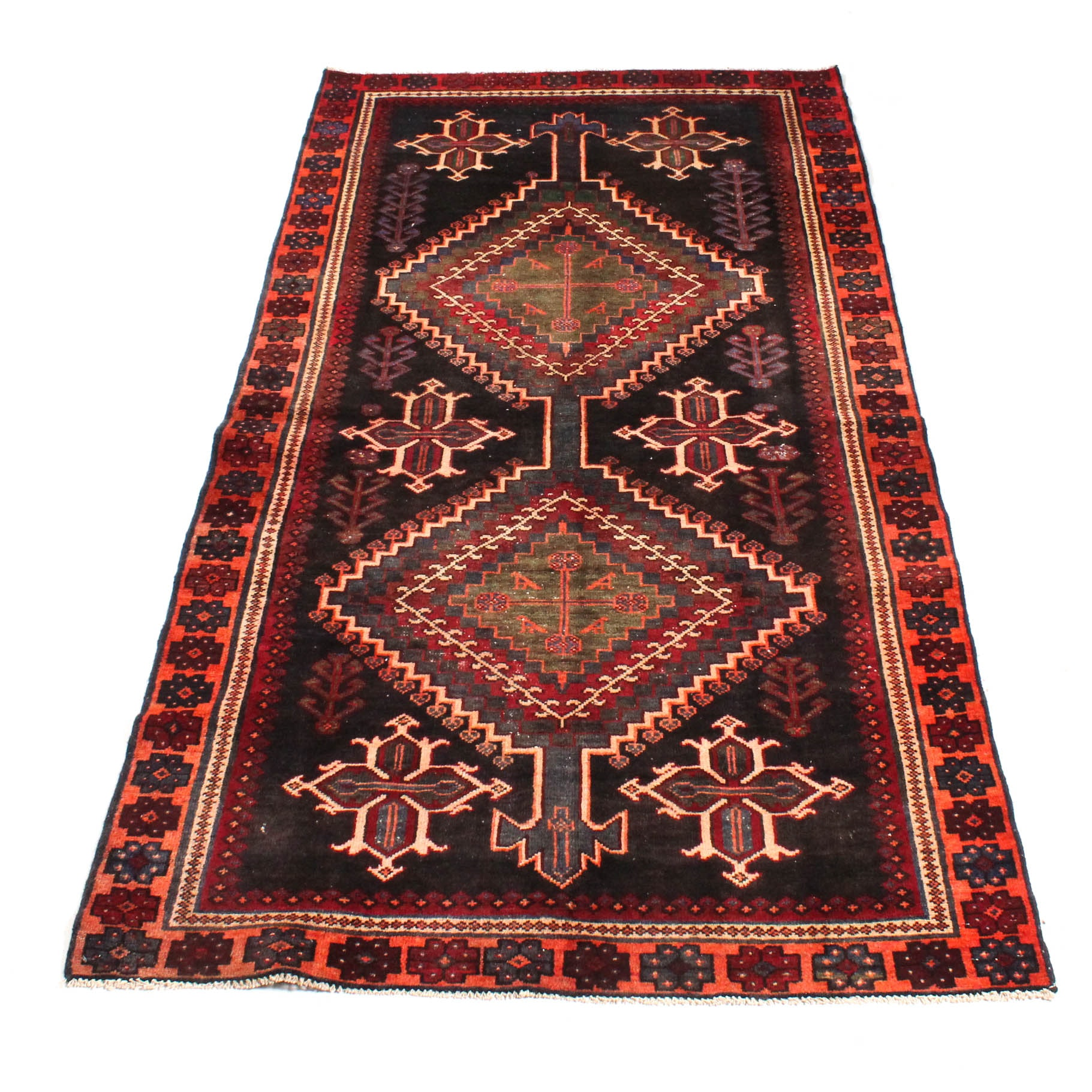 Hand-Knotted Persian Viss Rug