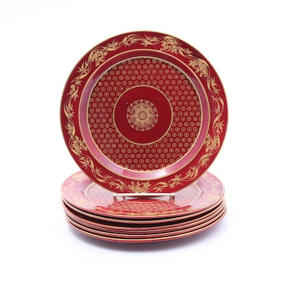 Mottahedeh Empire Style Dinner Plates