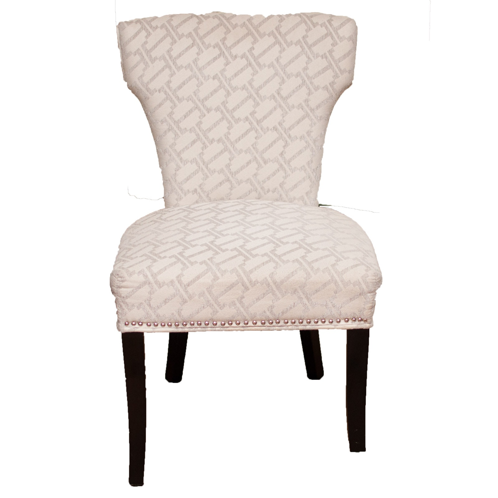 Armless Upholstered Side Chair