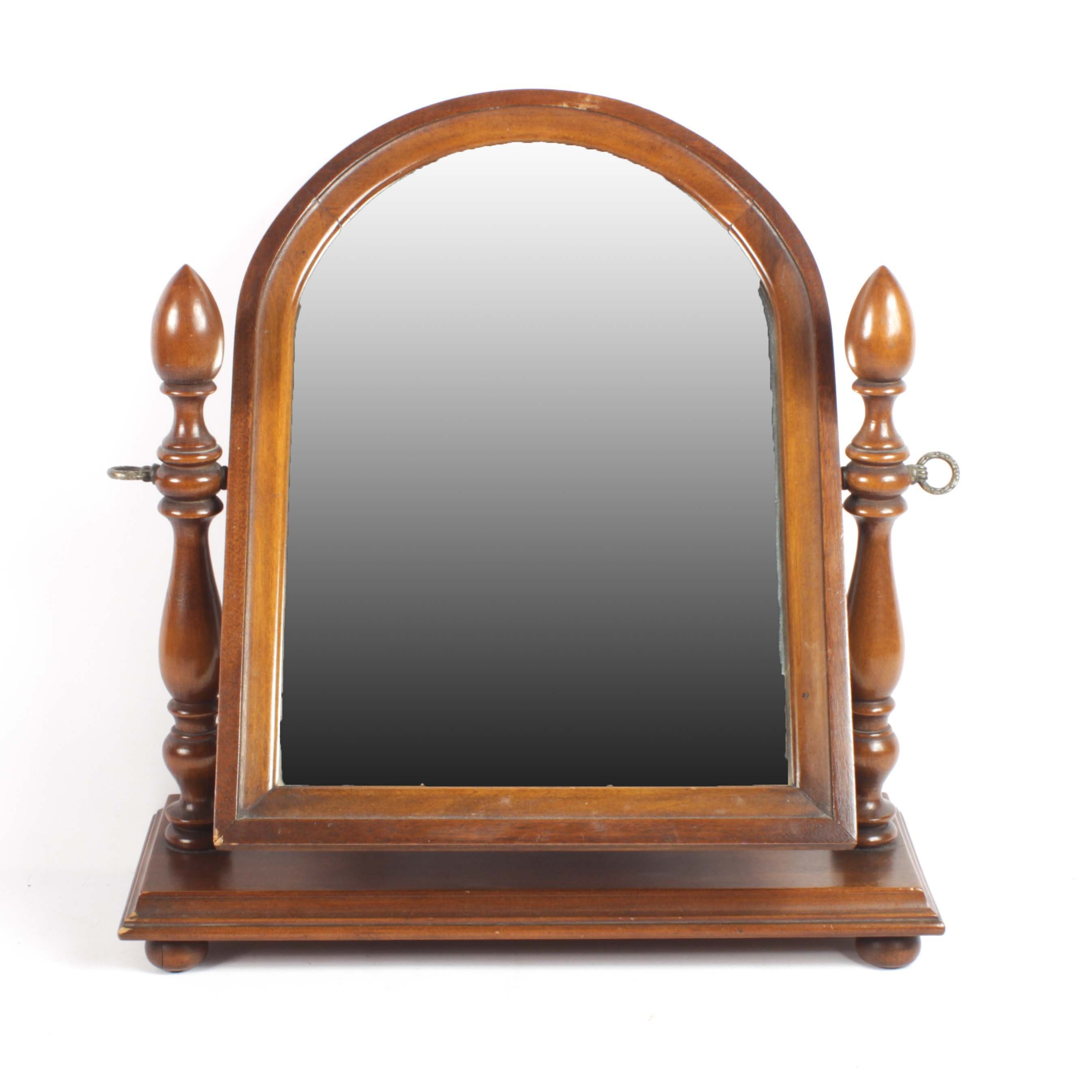 Mahogany Shaving Mirror Early/Mid-20th Century