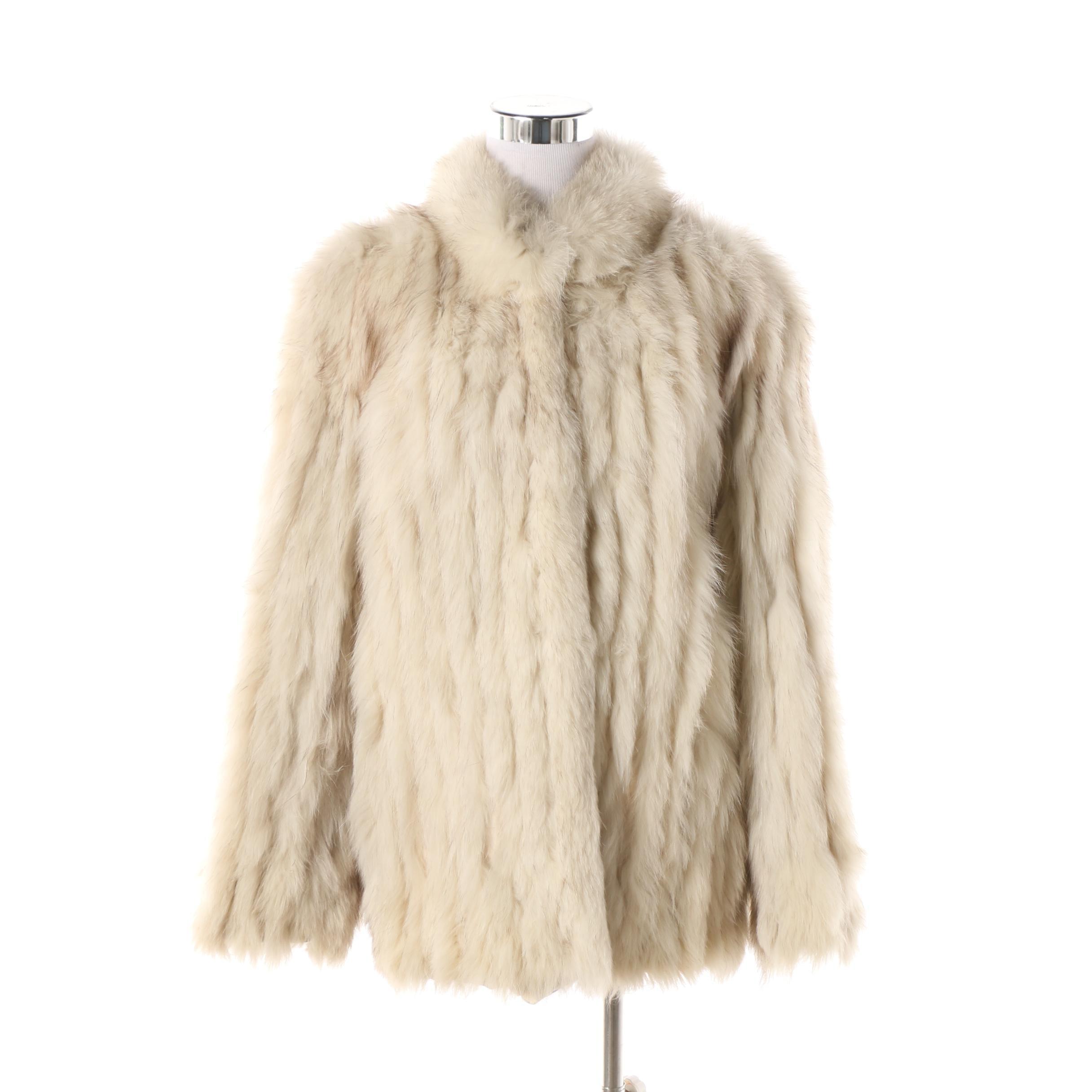 Women's Vintage Saga Fox Fur Coat