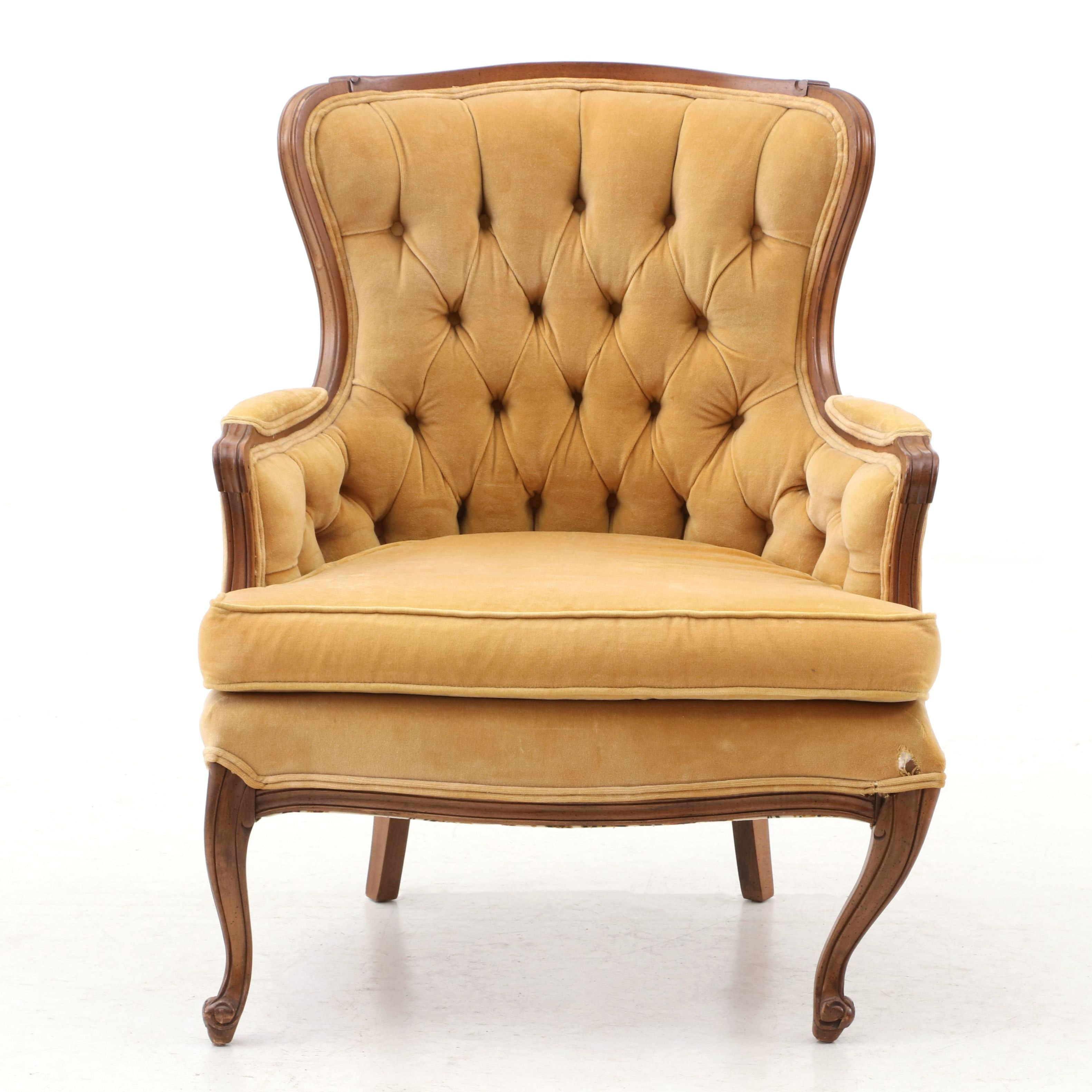 Vintage Victorian Style Arm Chair