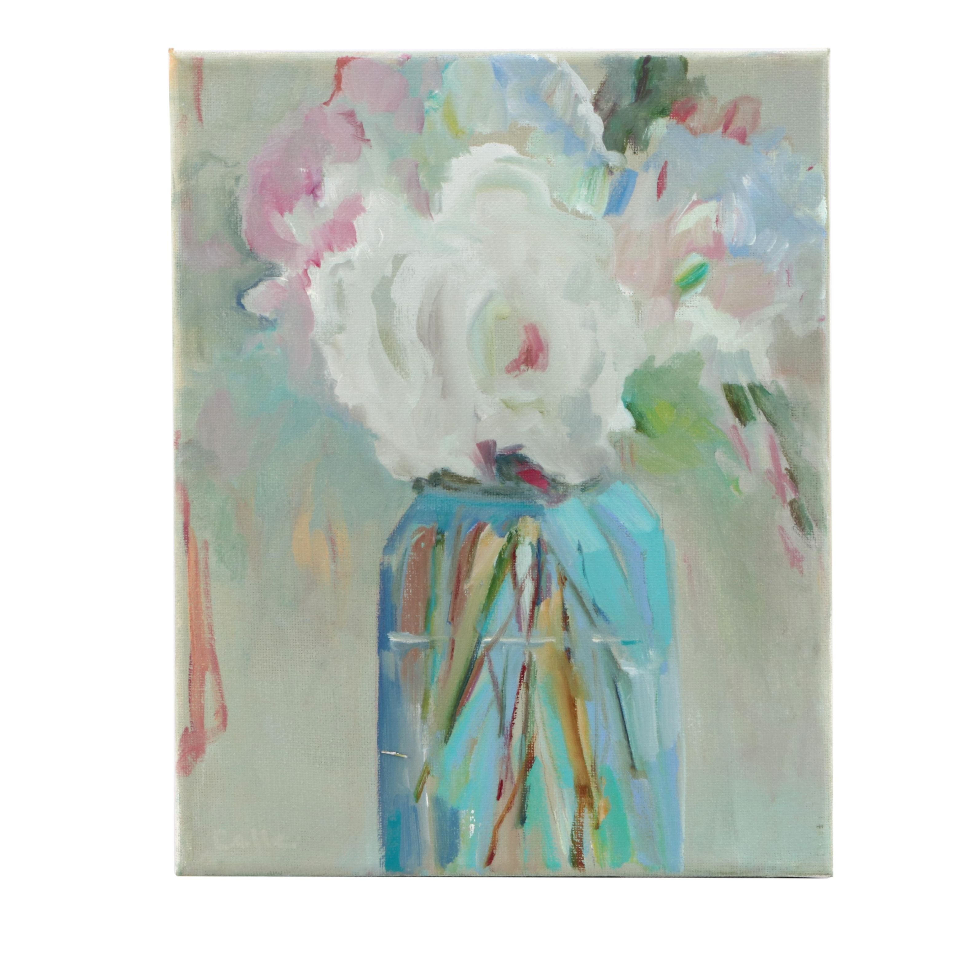 """CCLLC Floral Still Life Oil Painting """"Bouquet of Flowers"""""""
