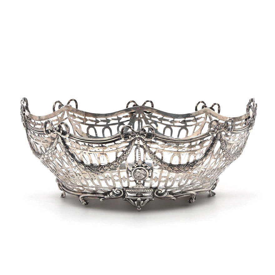 B. Neresheimer & Söhne Sterling Silver Neoclassical Style Centerpiece