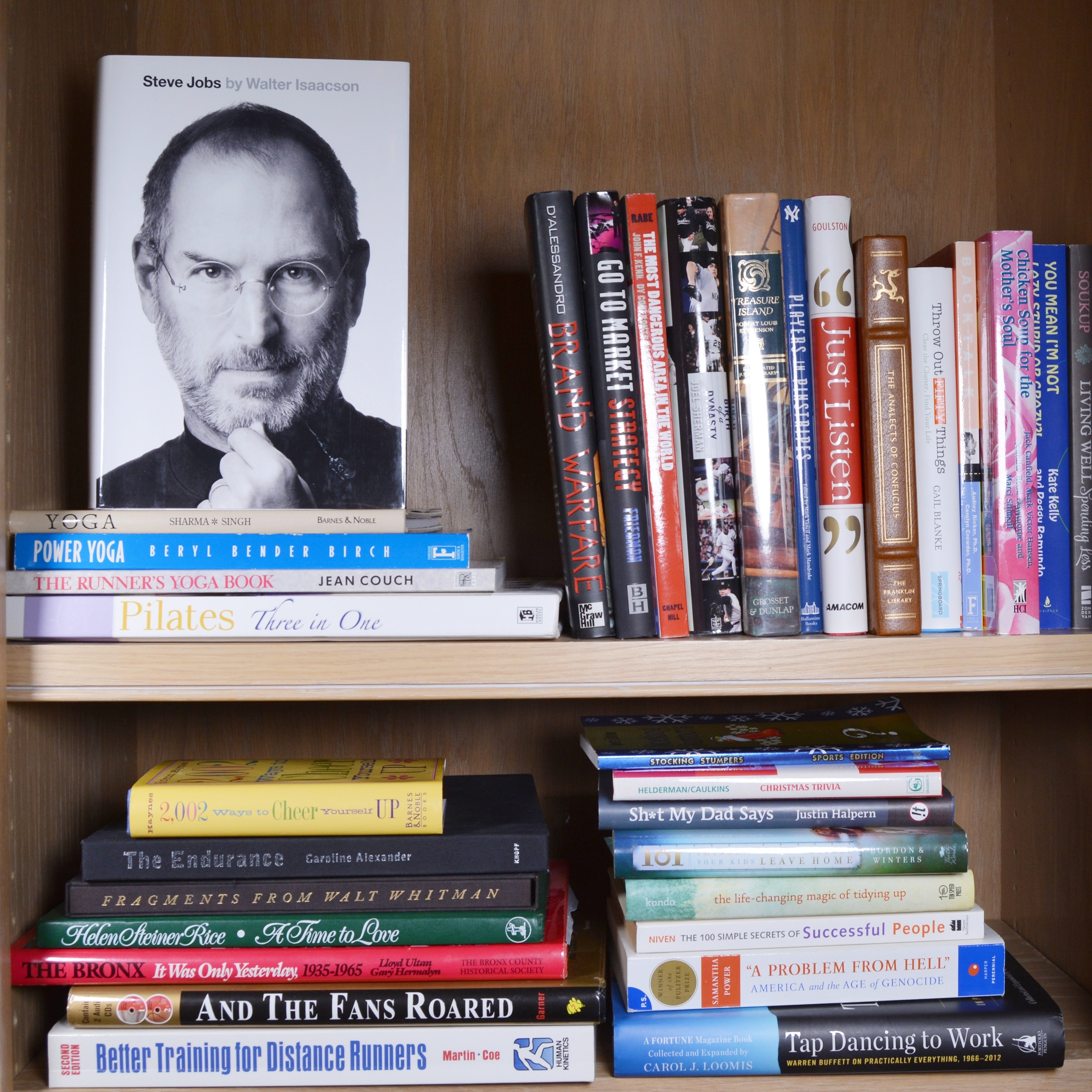 Exercise and Motivational Books