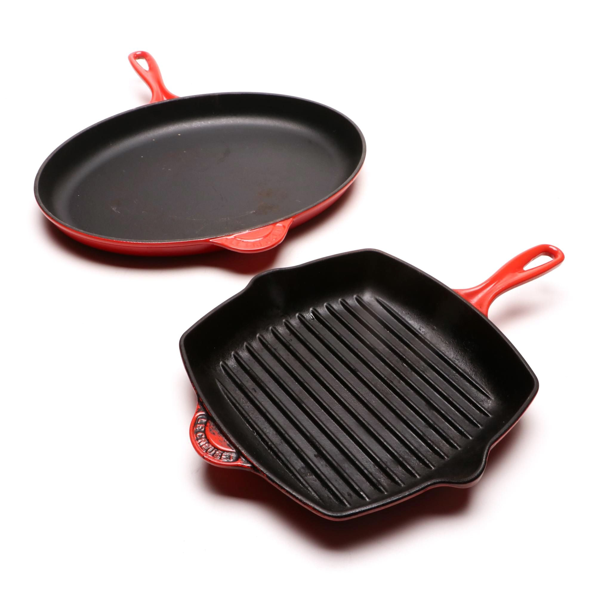 Le Creuset Enameled Cast Iron Pans