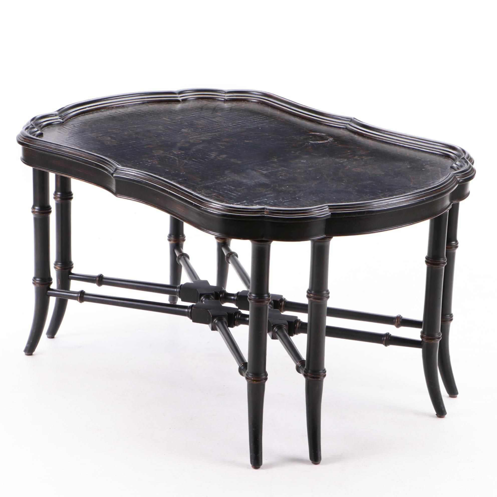 Chinoiserie Cocktail Table by Ethan Allen