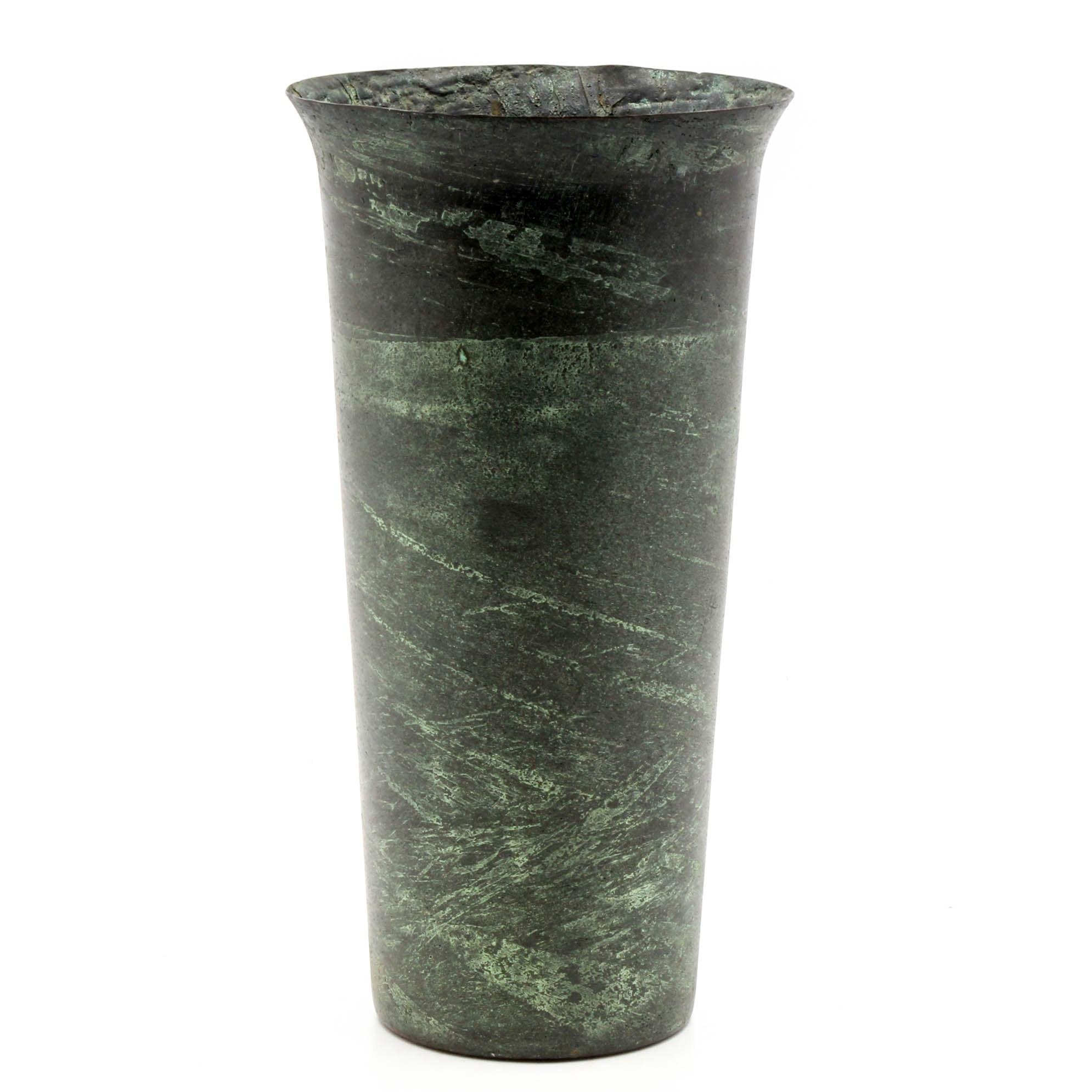Vintage U.S. Metals Refining Co. Copper Vase