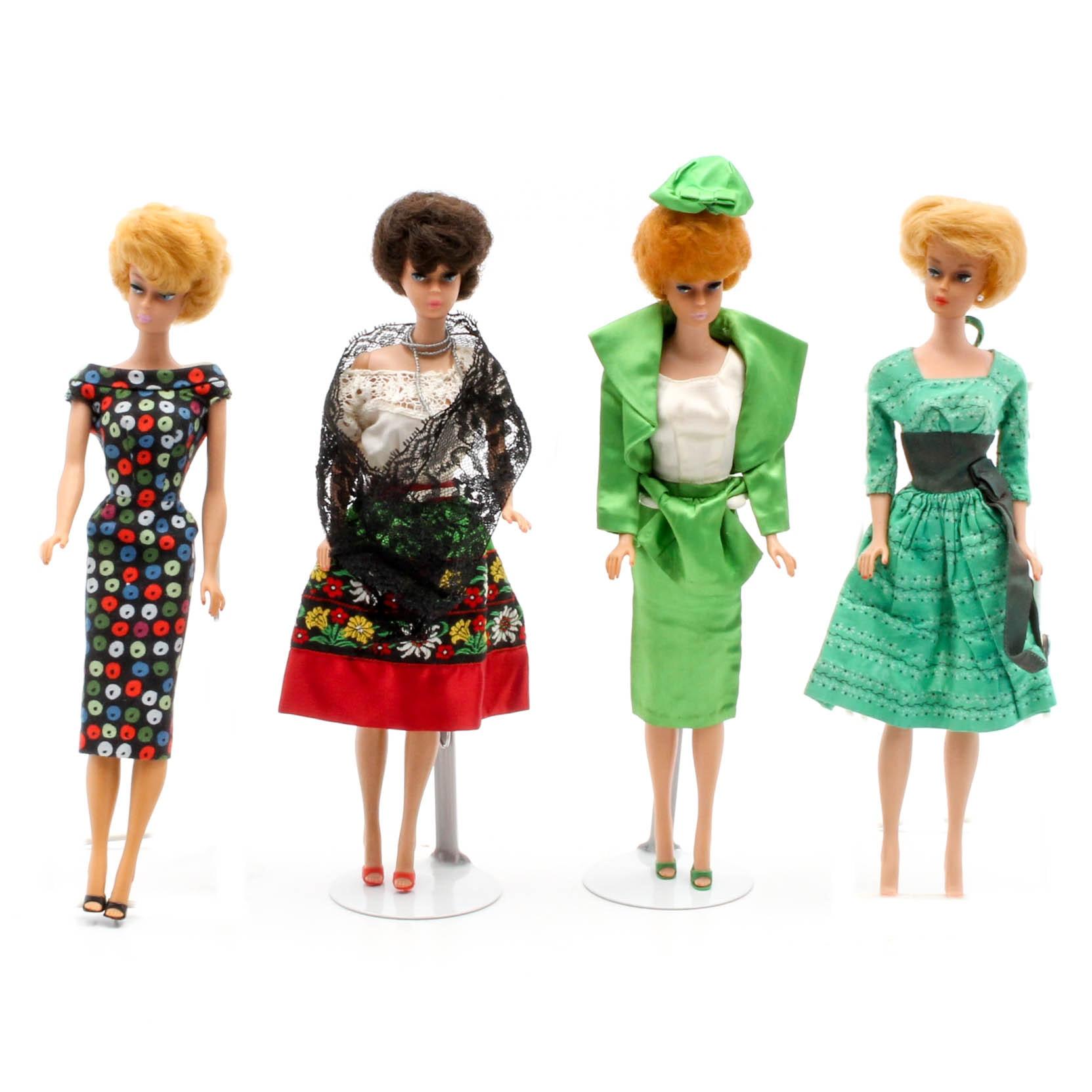 """Vintage Mattel """"Bubblecut"""" Barbie Dolls"""