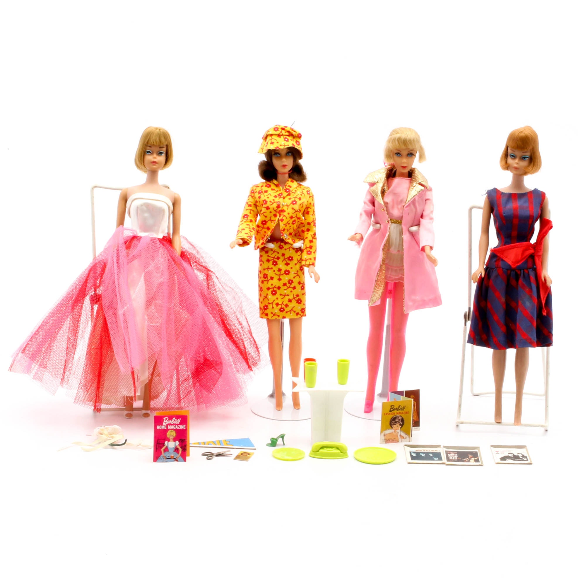 1960s Barbie Dolls and Accessories
