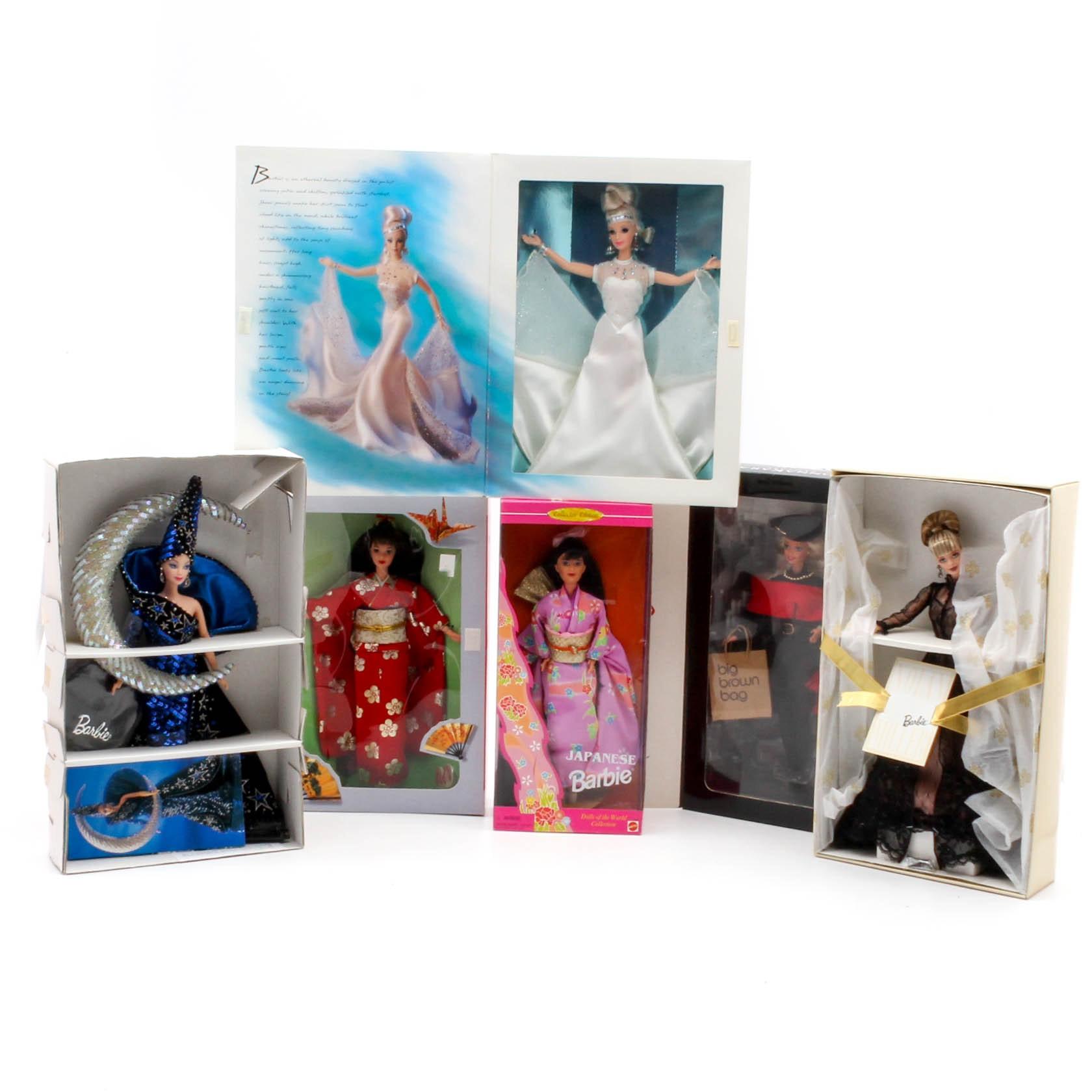 Designer Mattel Barbies Featuring Mackie, Miller and Karan