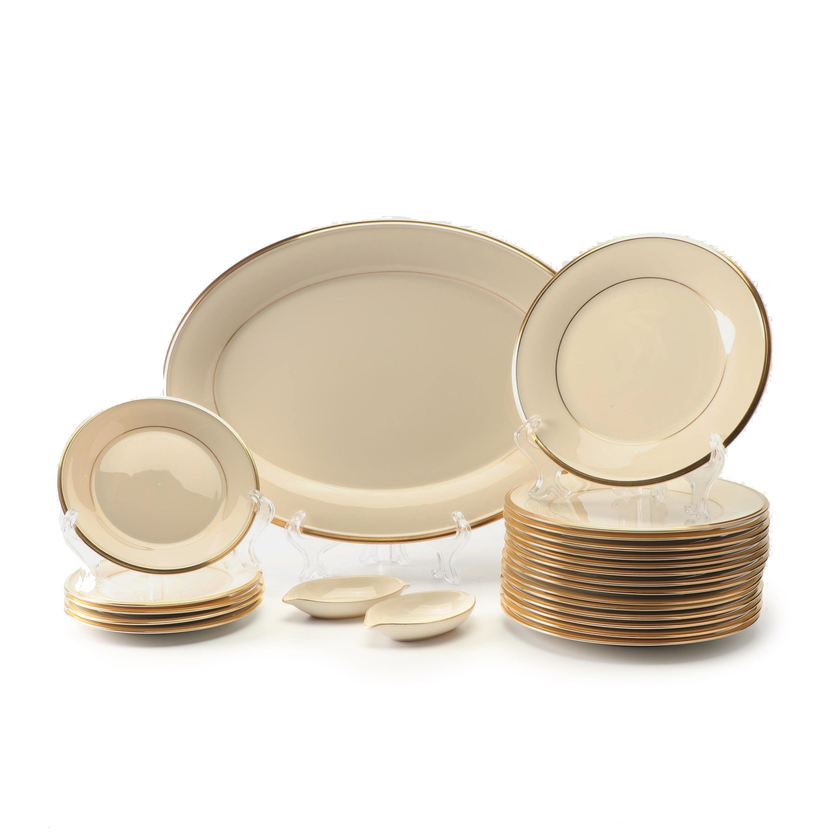 "Lenox ""Eternal"" Bone China Dinnerware"