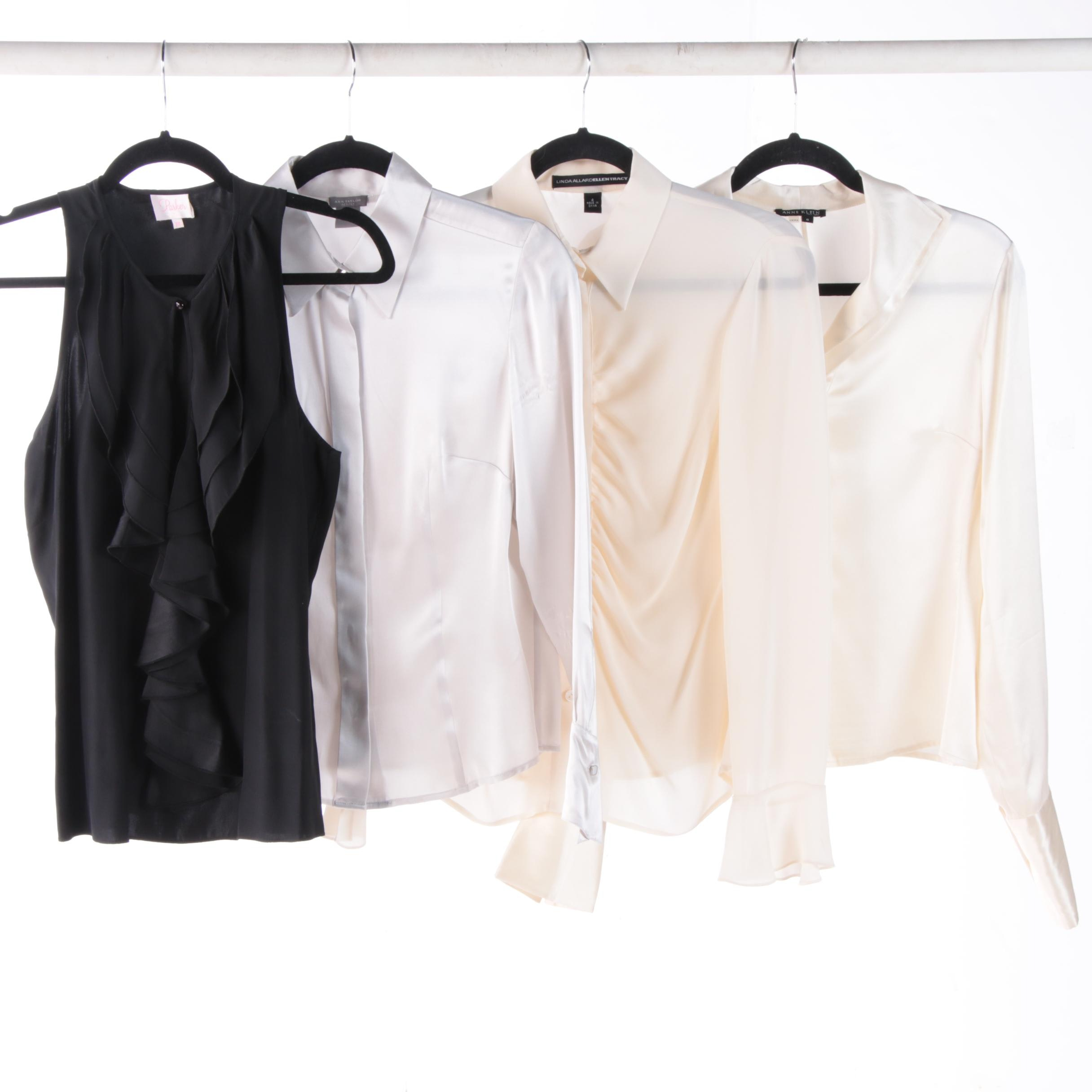 Silk Blouses including Anne Klein and Ann Taylor