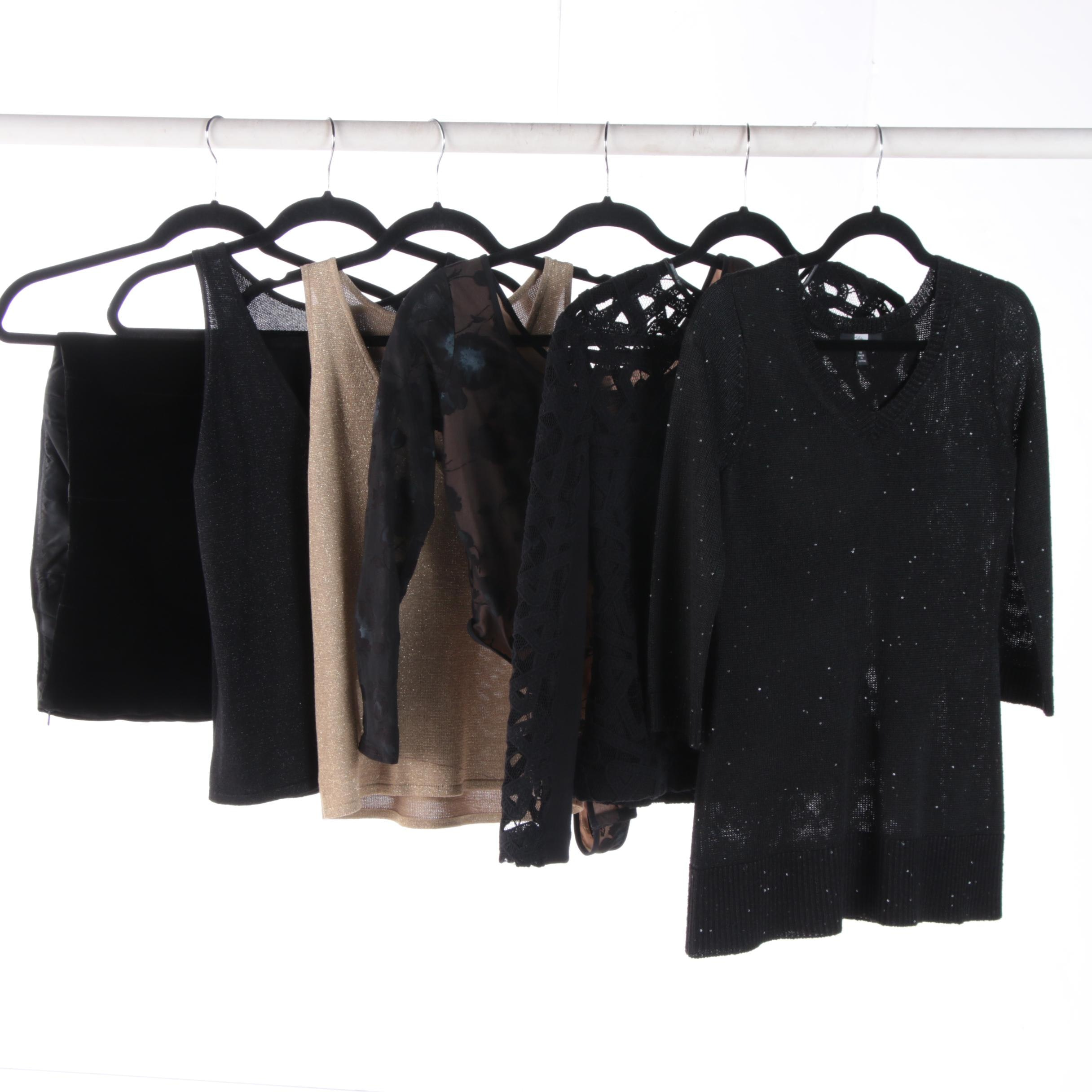 Women's Knit Tops including Yigal Azrouël and Saks Fifth Avenue