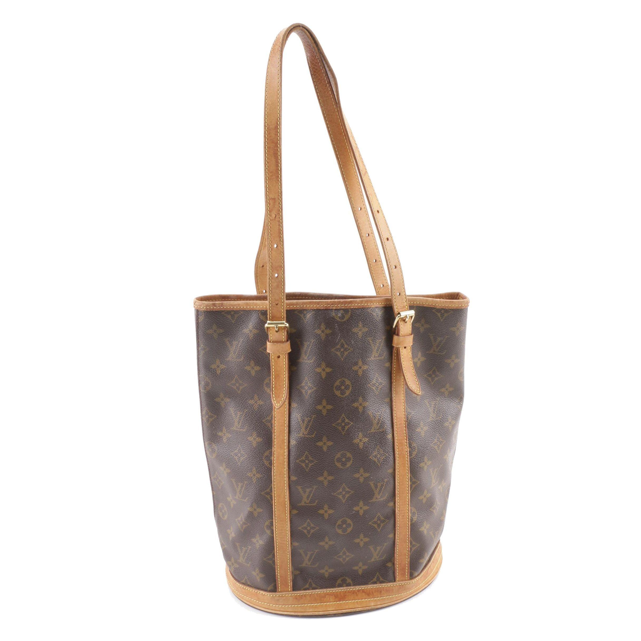 1998 Louis Vuitton Paris Monogram Canvas Bucket Bag