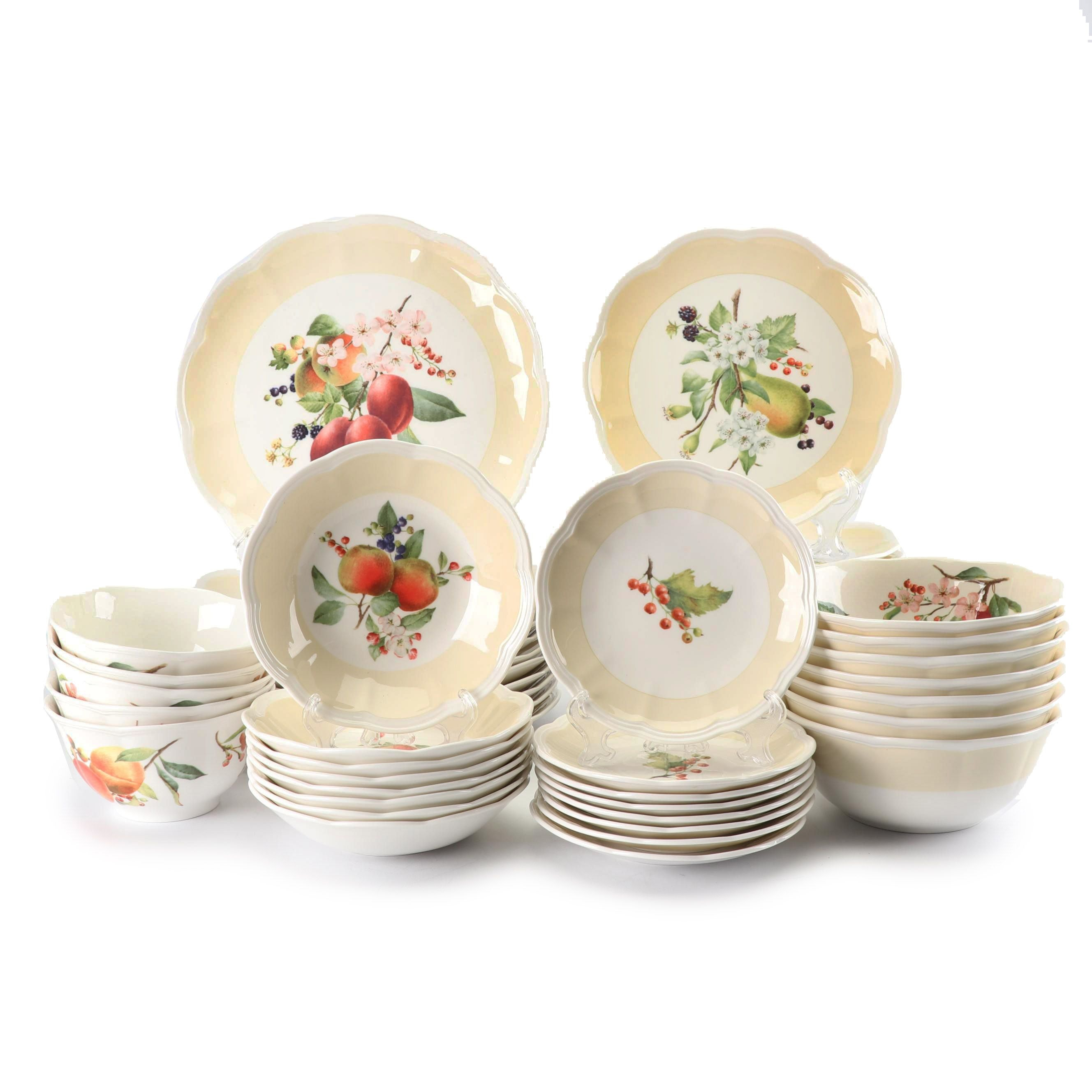 "Lenox ""Orchard in Bloom"" Ceramic Dinnerware"