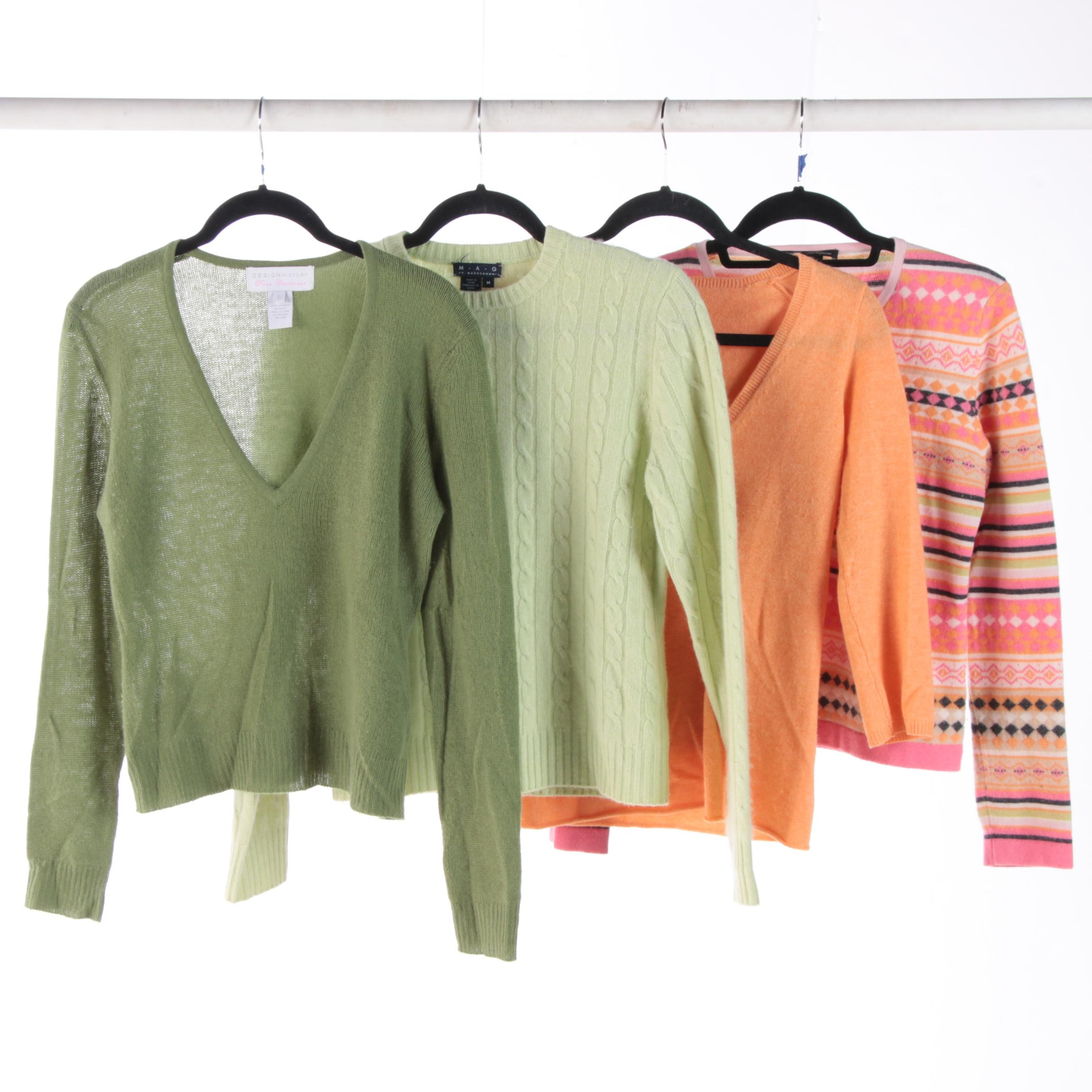 Womens Cashmere Sweaters Including Les Copains J Crew And Mag By