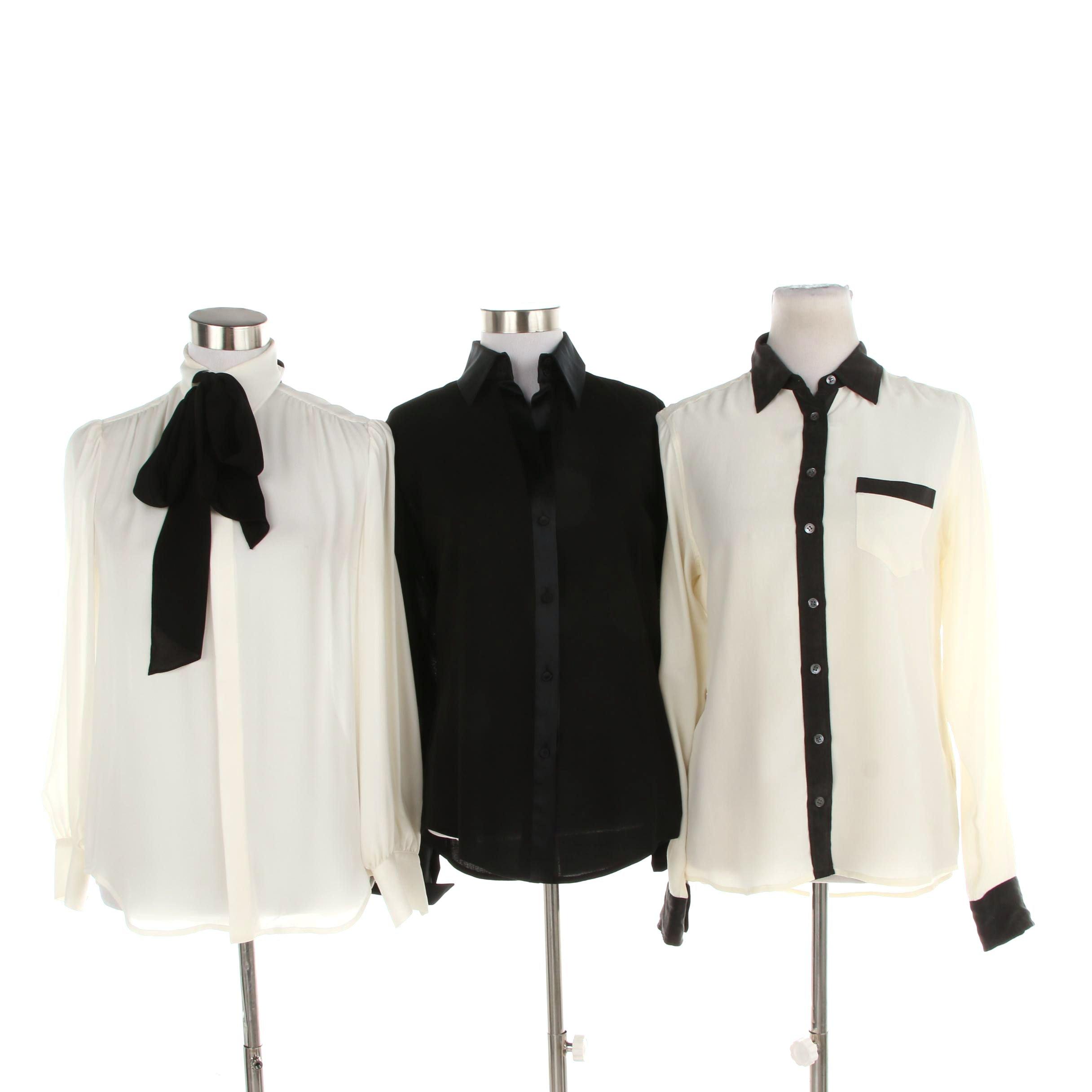 Women's Button-Front Blouses including Dana Buchman and Polo Ralph Lauren
