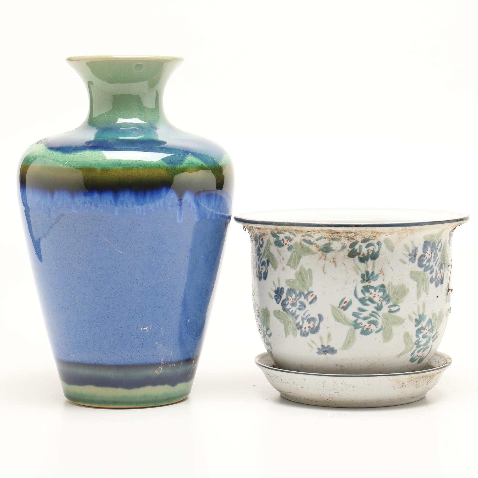 Ceramic Vase and Planter