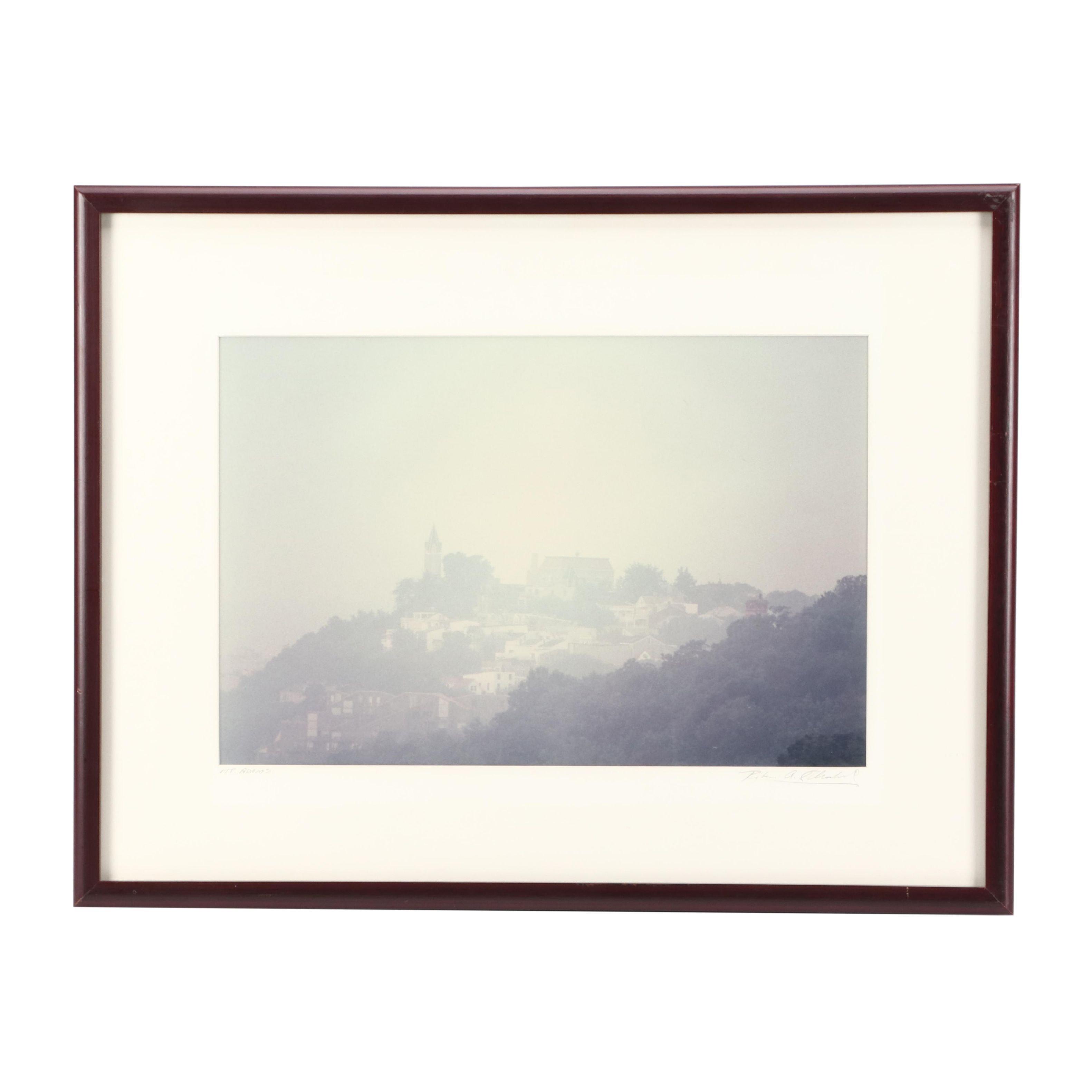 """Robert Flischel Chromogenic Color Photograph """"Mt. Adams"""""""