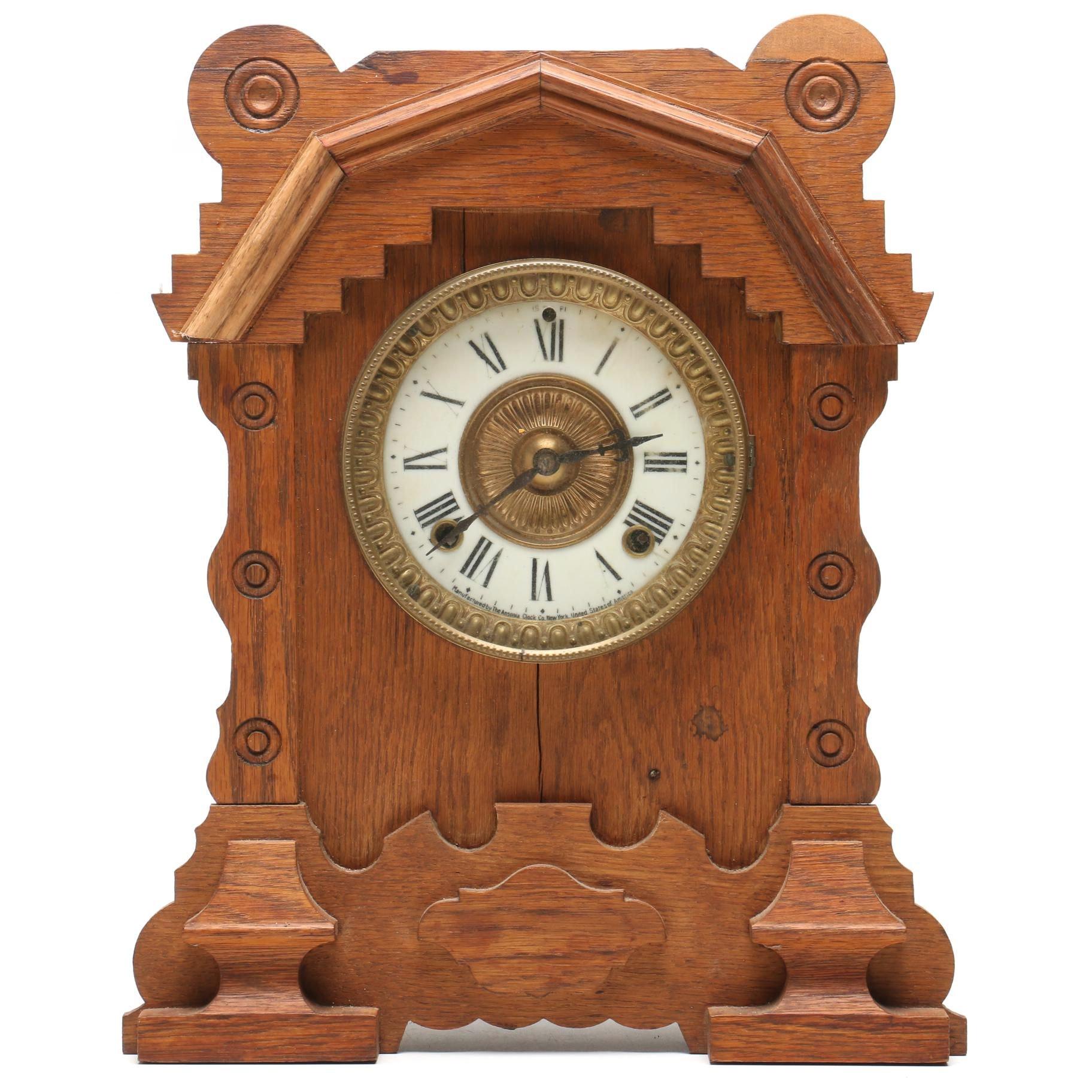 "Ansonia ""Duluth"" Mantel Clock"
