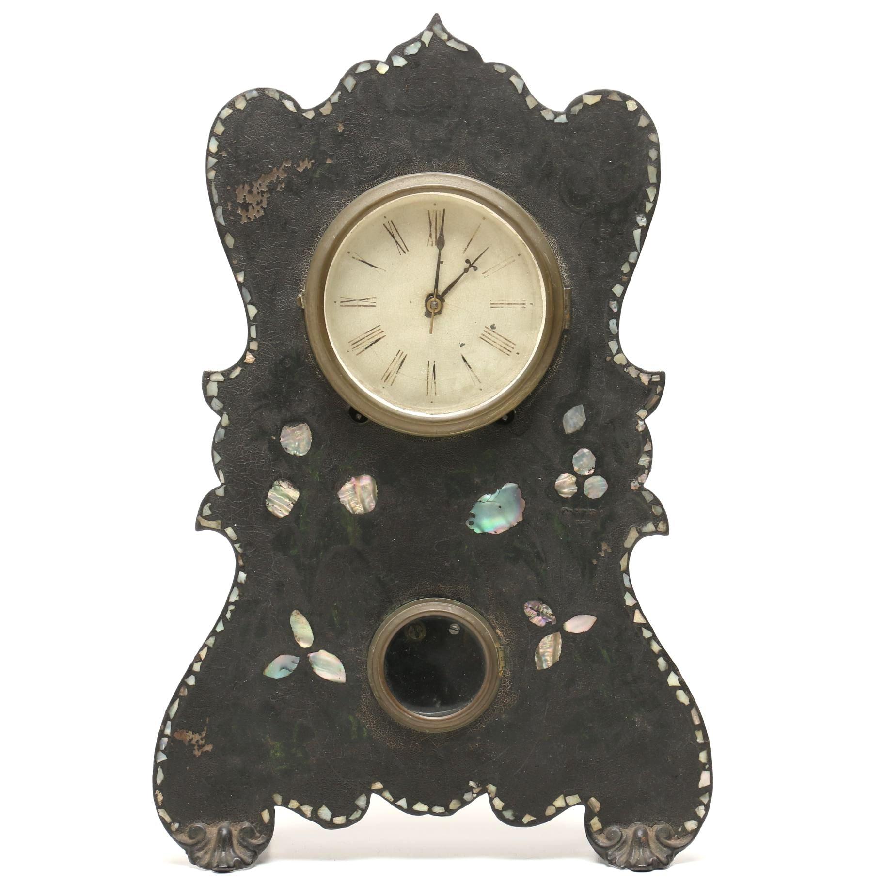 Antique William Johnson Mantel Clock