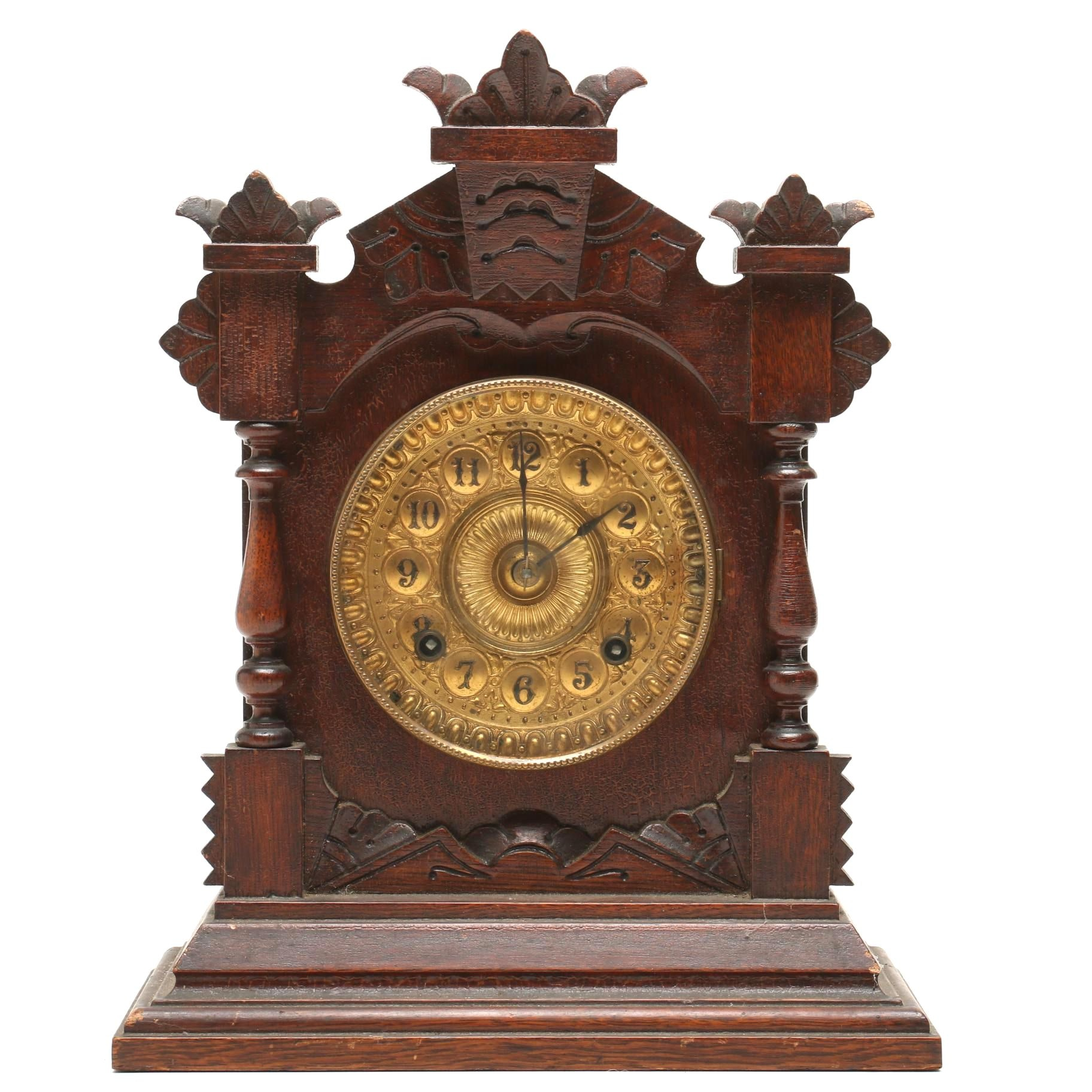 "Ansonia Eight-Day ""Tivoli"" Clock, Late 19th Century"