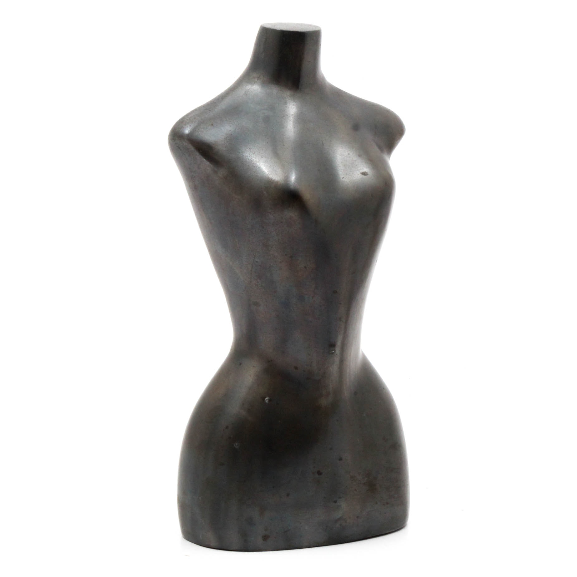 Cast Metal Nude Female Sculpture