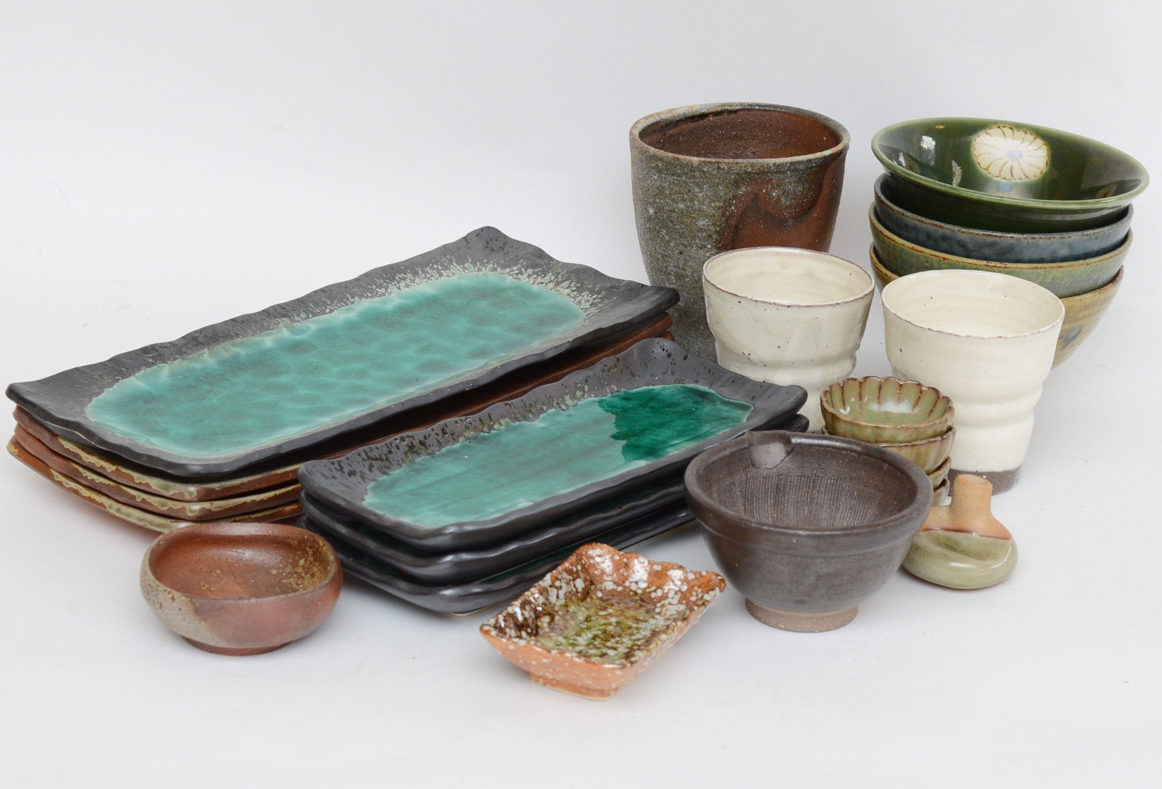 Japanese Pottery Tableware