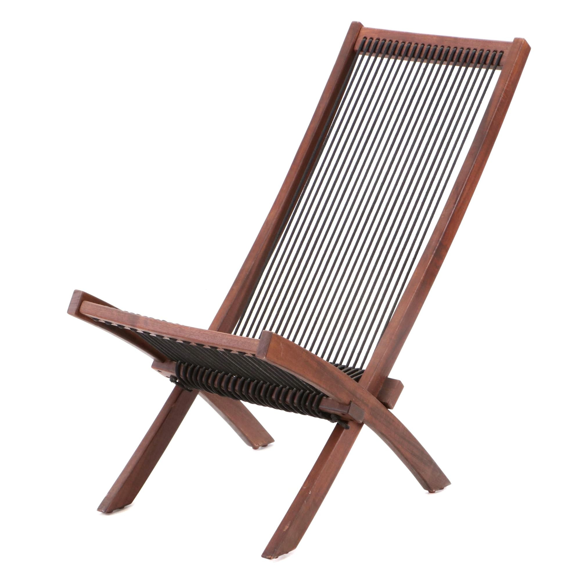 Folding Patio Chair in Teak