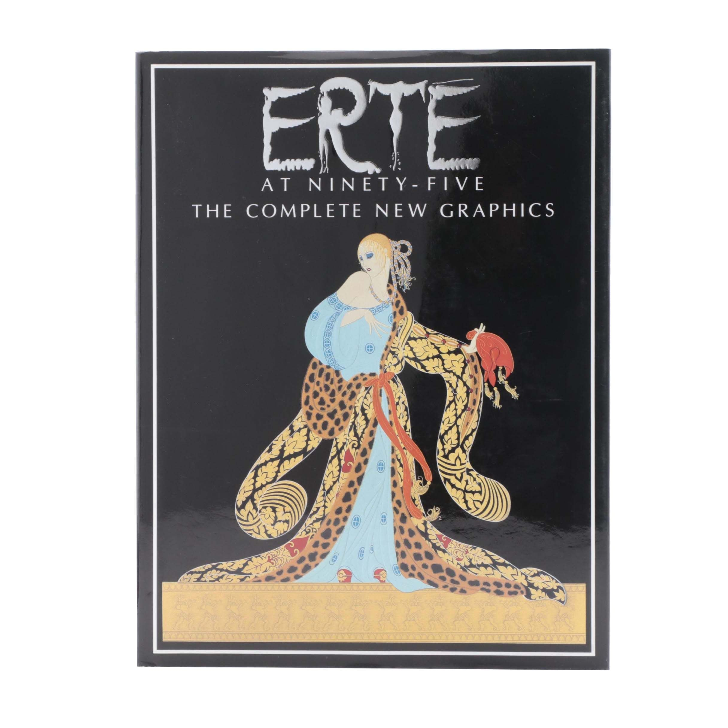 """1987 Signed First Edition """"Erté at Ninety-Five"""""""