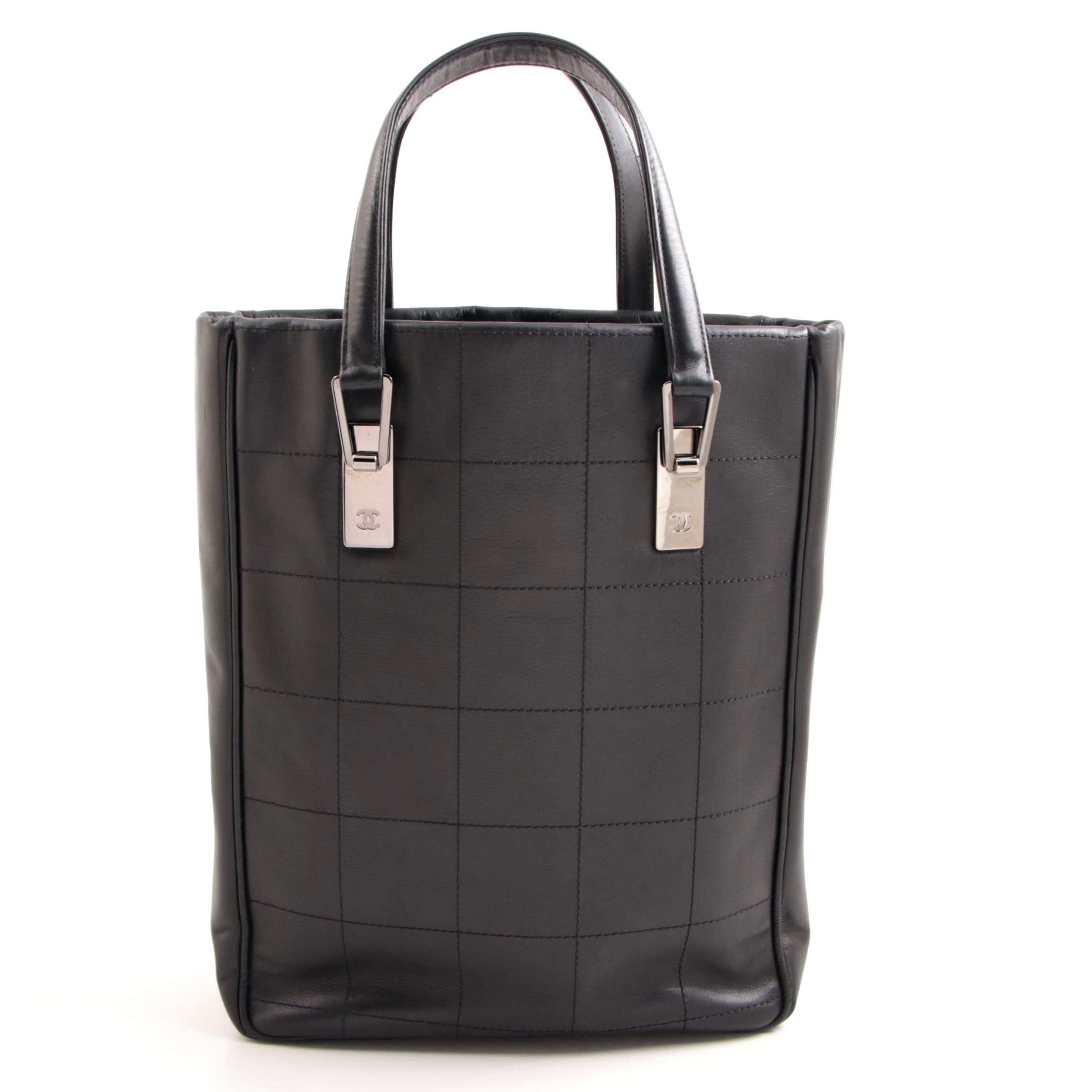 Chanel Quilted Lambskin Tote, Made in Italy