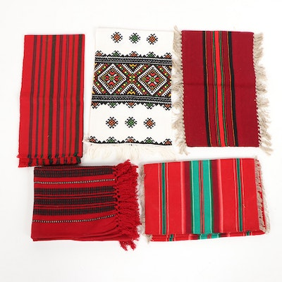 Polish Woven Table Linens and Textiles