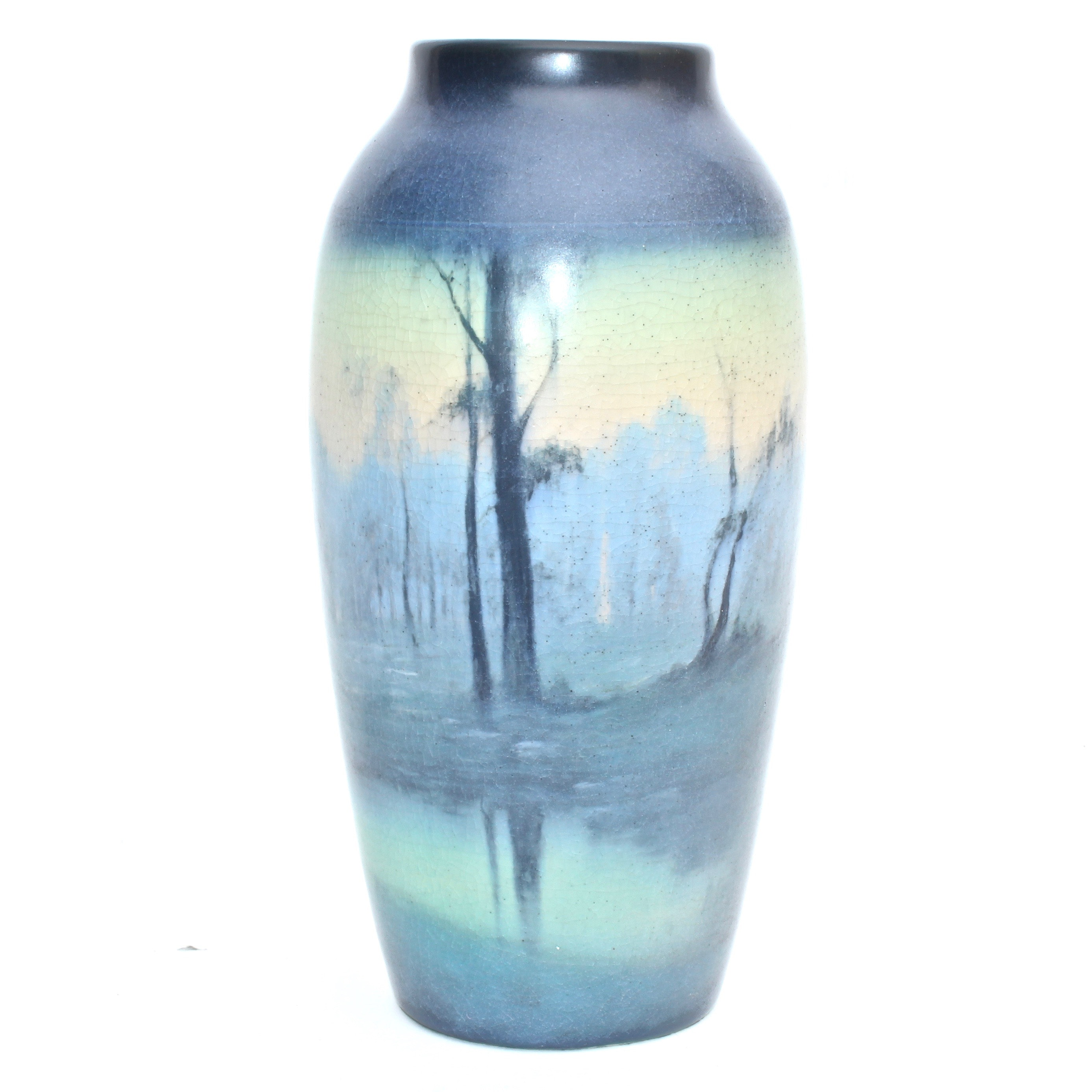 Rookwood Pottery Ceramic Vase by Fred Rothenbusch