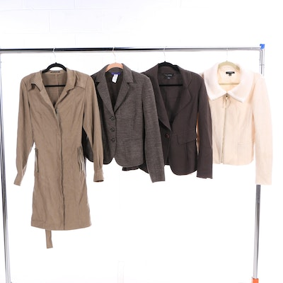 Women s Outerwear and Blazers Including St. John and Elie Tahari 2b0e37159