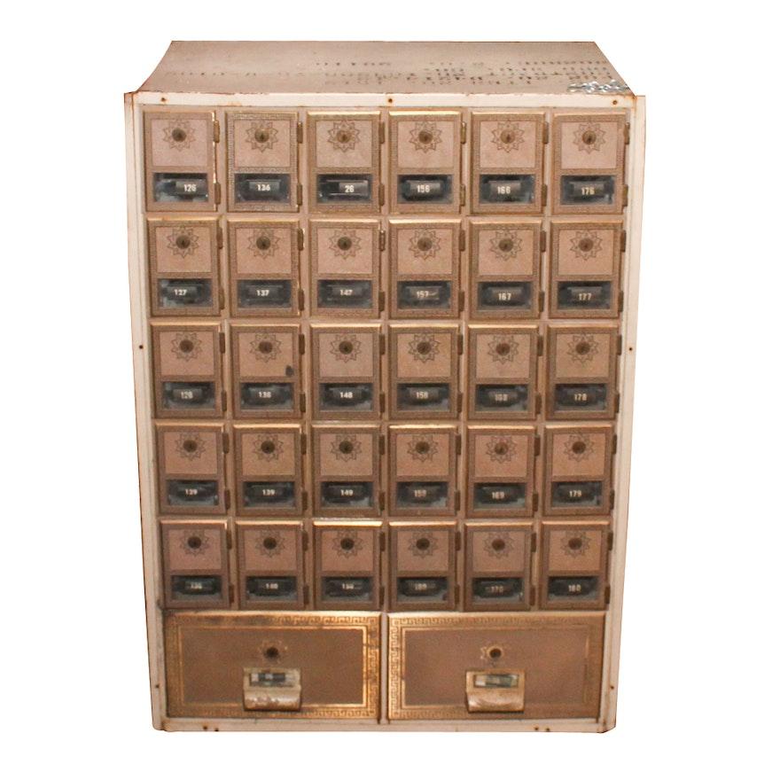 Vintage Apartment Lobby Mailbox