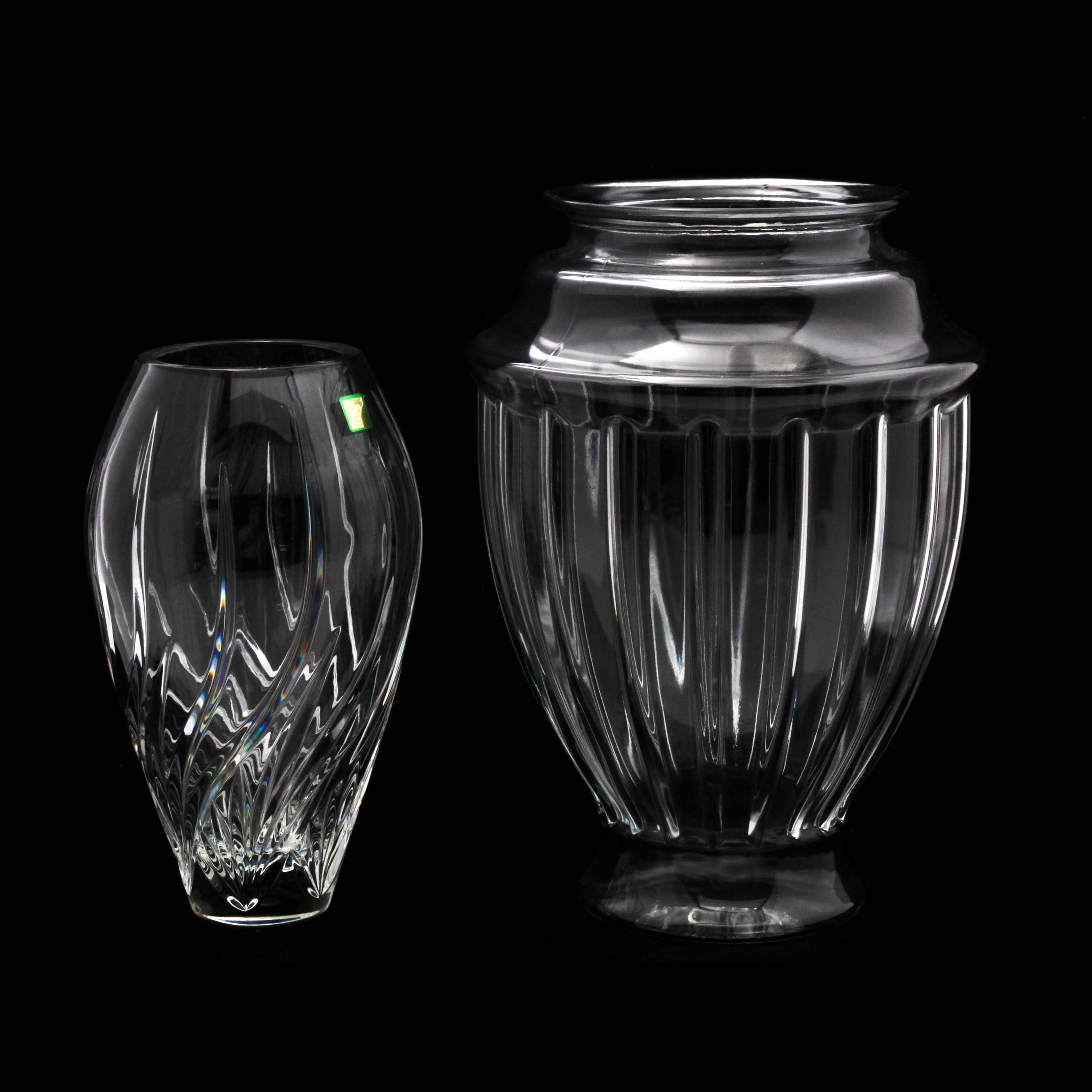 "Glass Vases Featuring Marquis by Waterford ""Wyndmere"""