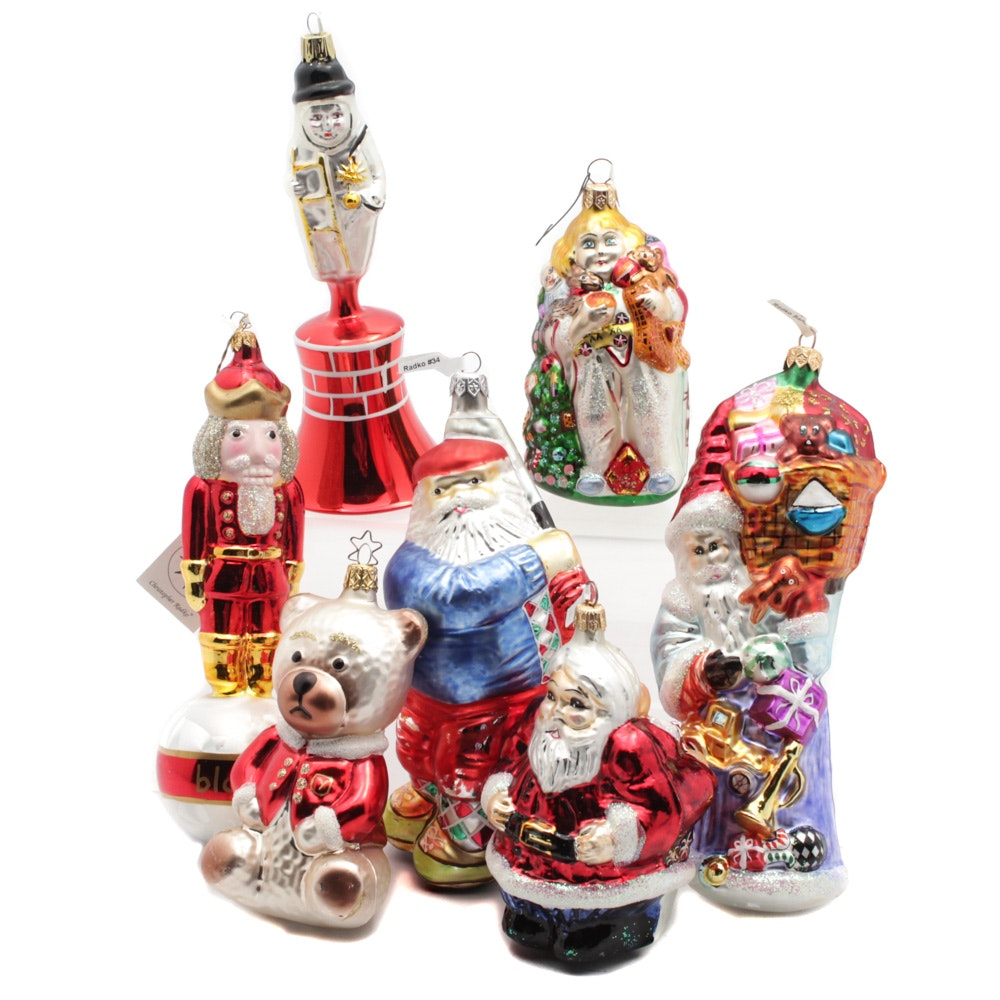Christopher Radko Christmas Ornaments Collection