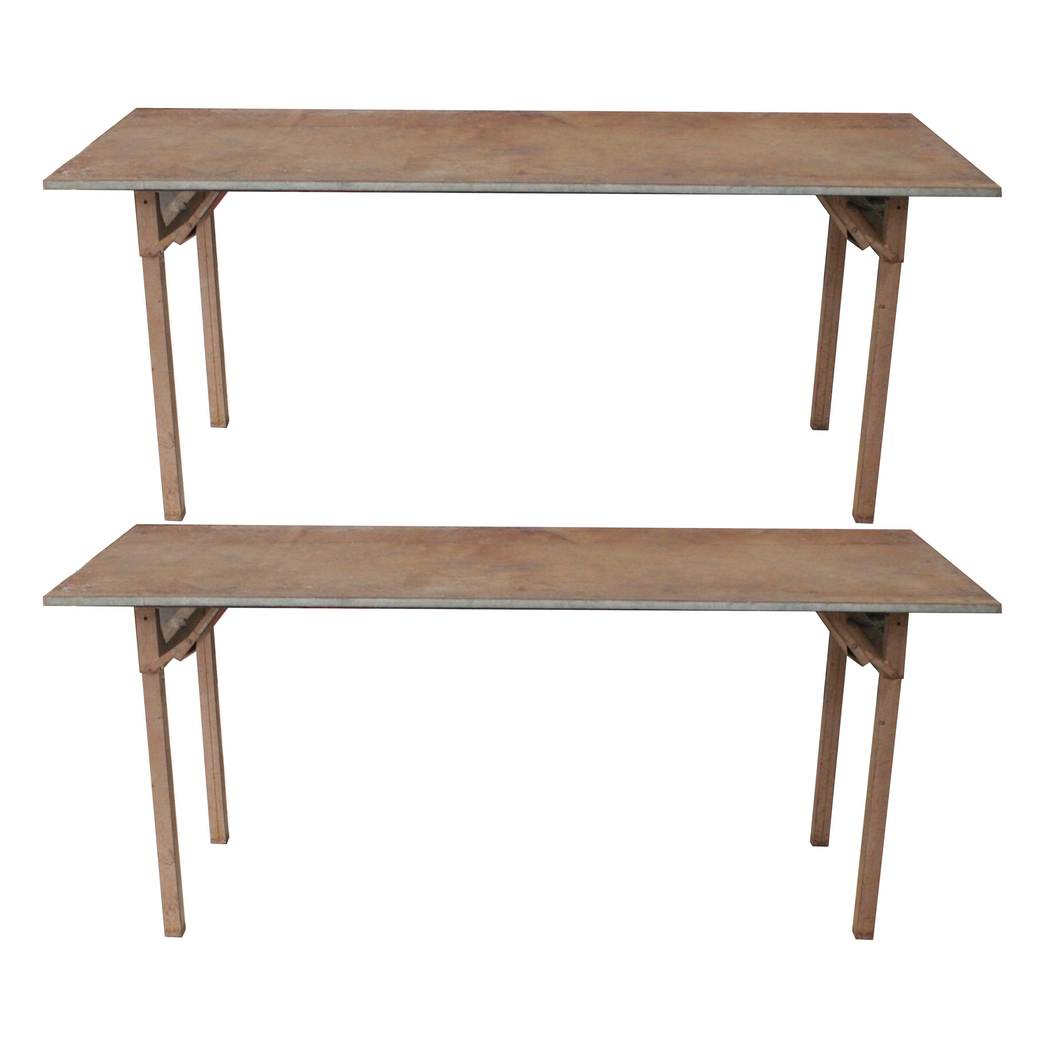 Folding Shop Tables