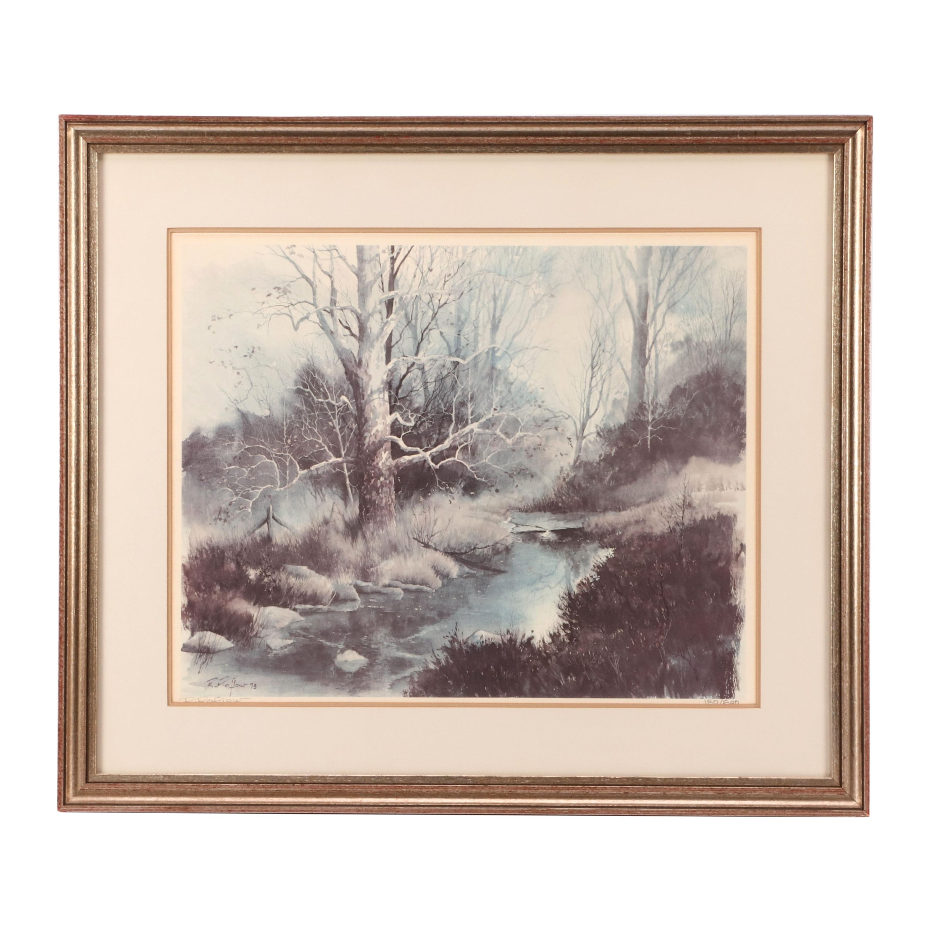 Richard Roflow Limited Edition Offset Lithograph