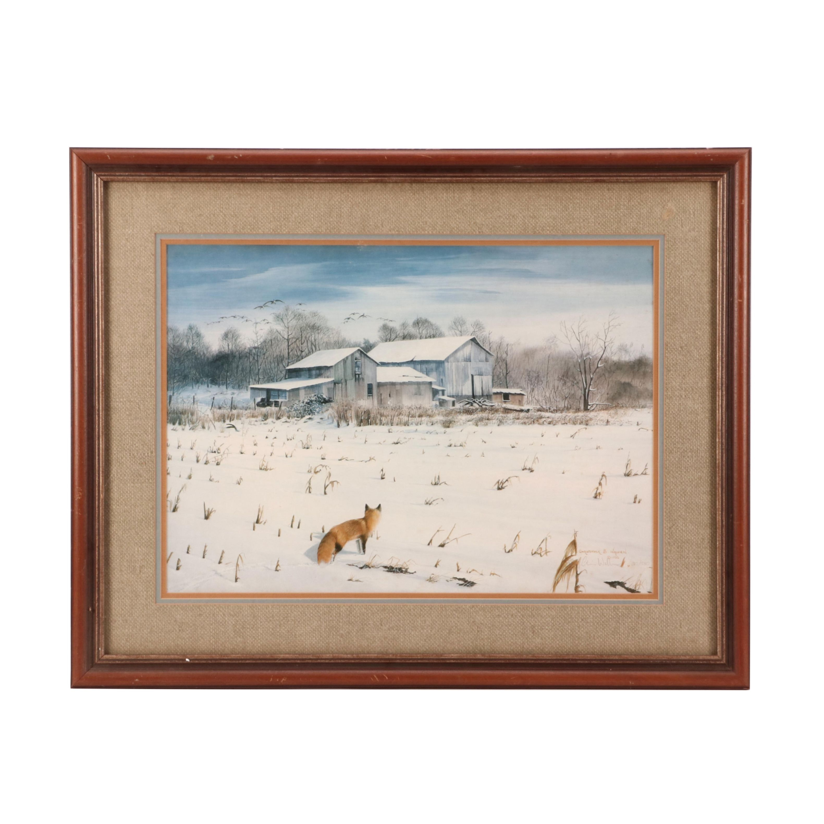 Christopher B. Walden 1982 Limited Edition Offset Lithograph